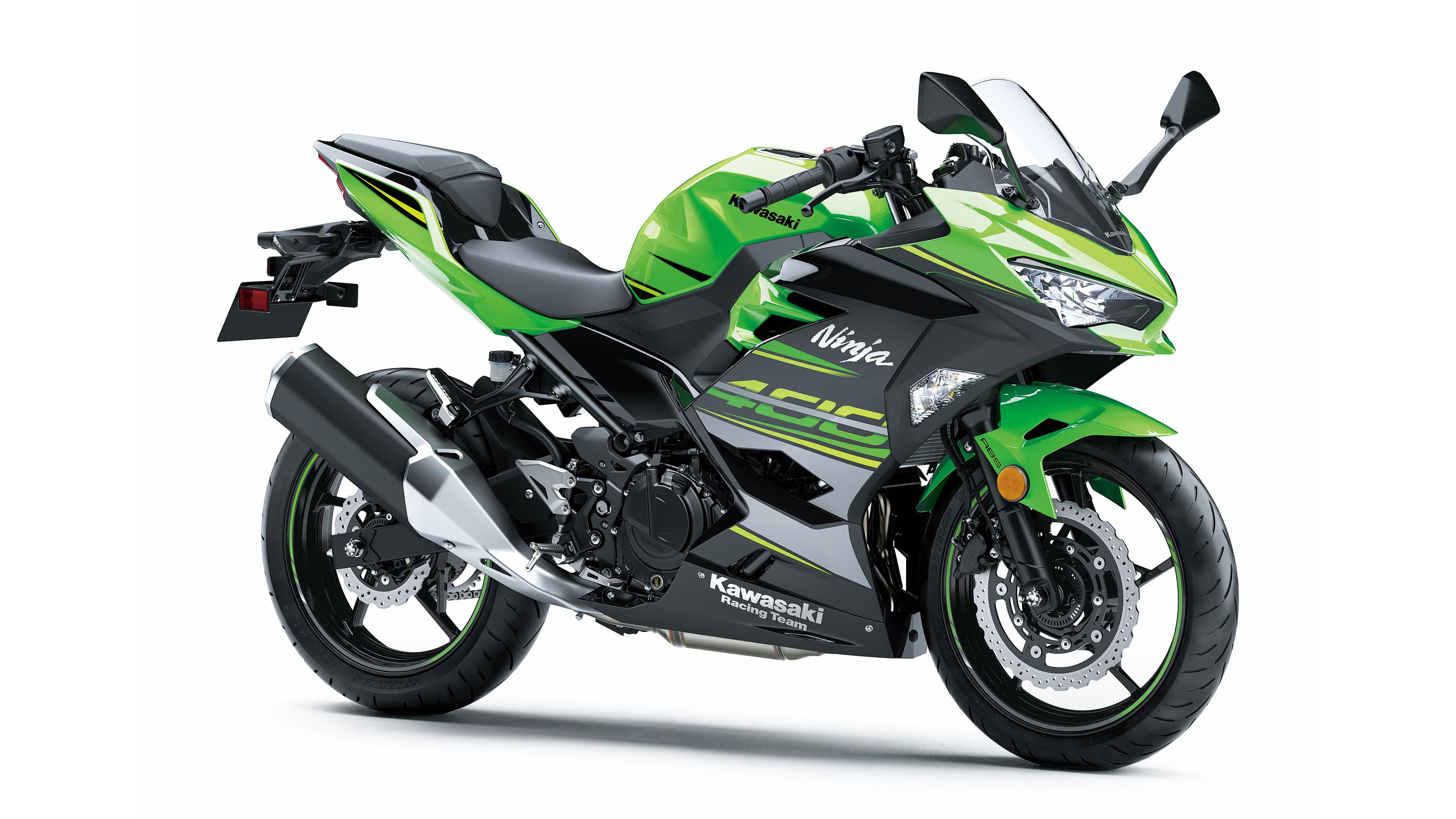 Kawasaki Ninja 400 ABS UHD 4K Wallpaper