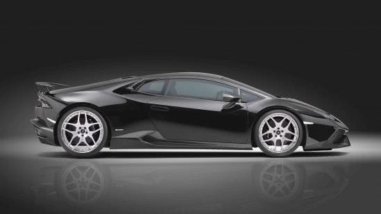 lamborghini huracan lp 610-4 side uhd 4k wallpaper
