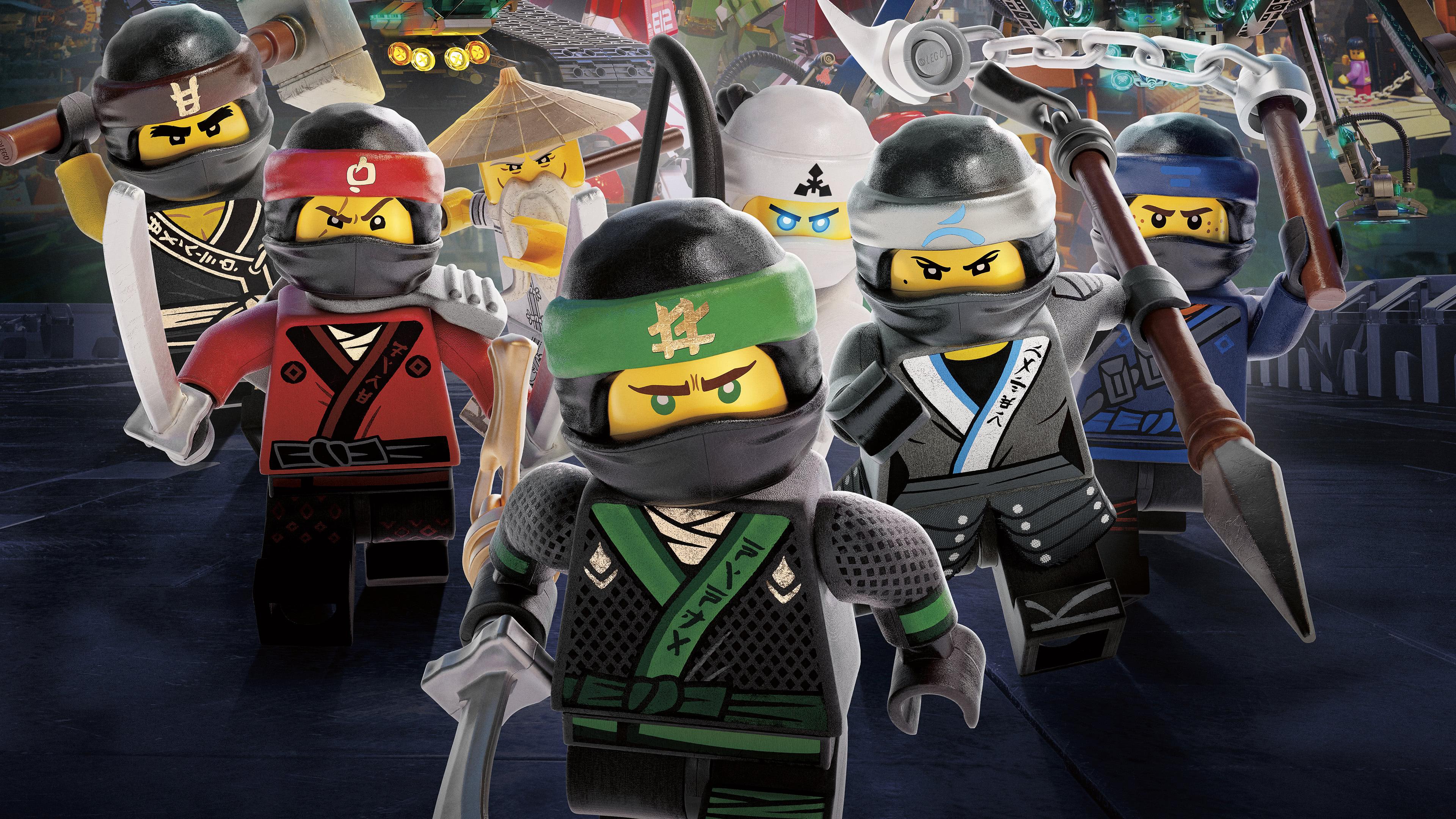 lego ninjago masters of spinjitzu uhd 4k wallpaper