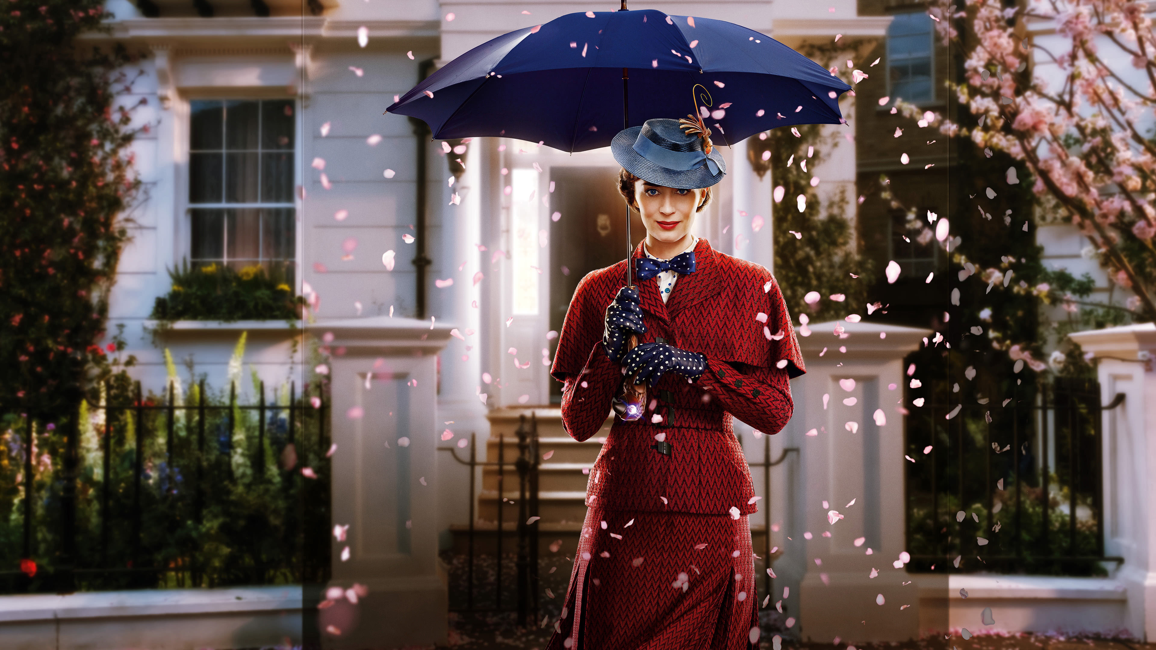 mary poppins returns emily blunt uhd 4k wallpaper