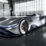mercedes benz vision eq silver arrow uhd 4k wallpaper
