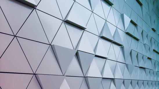metal triangles uhd 4k wallpaper
