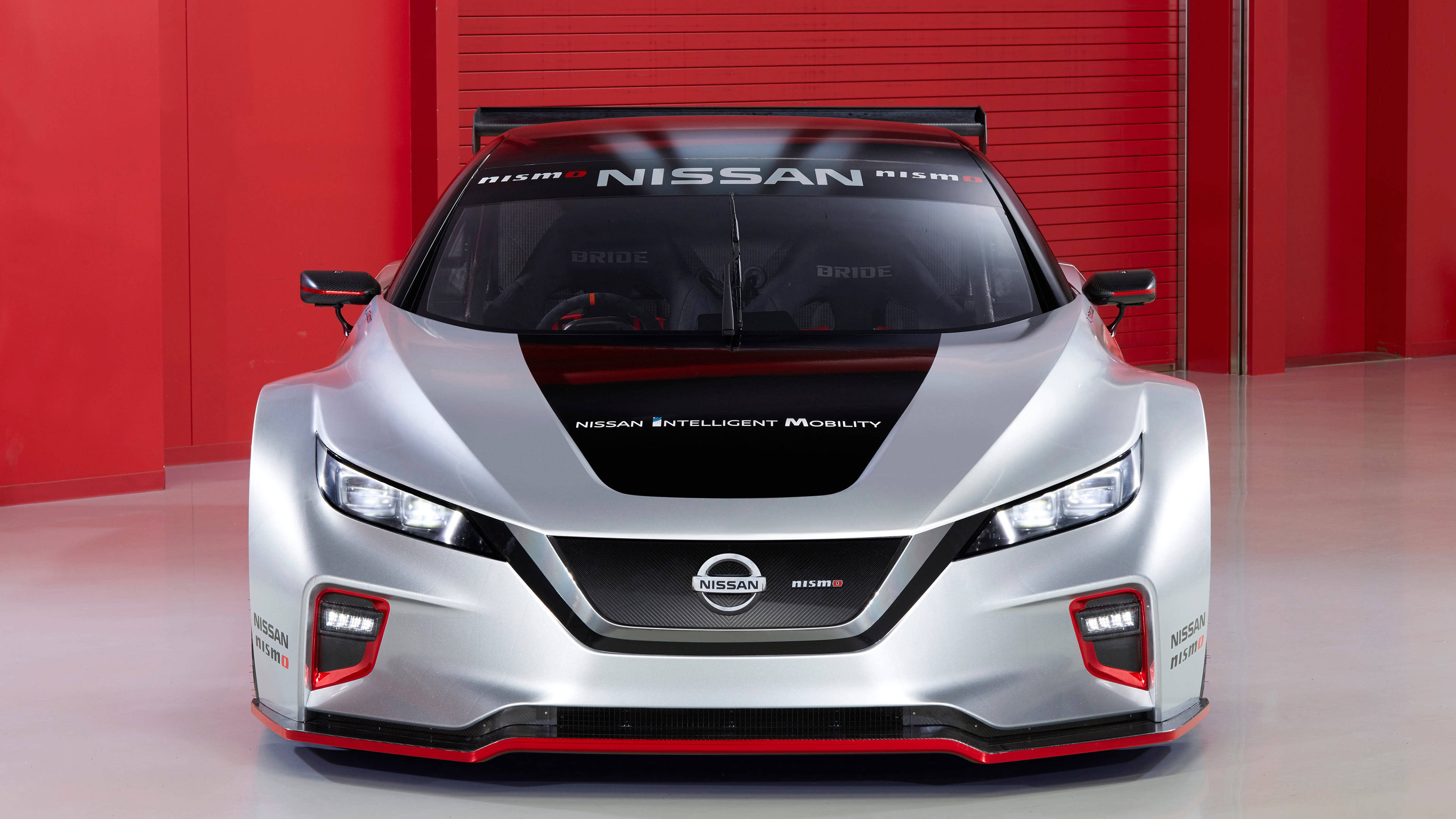 nissan leaf nismo rc uhd 4k wallpaper