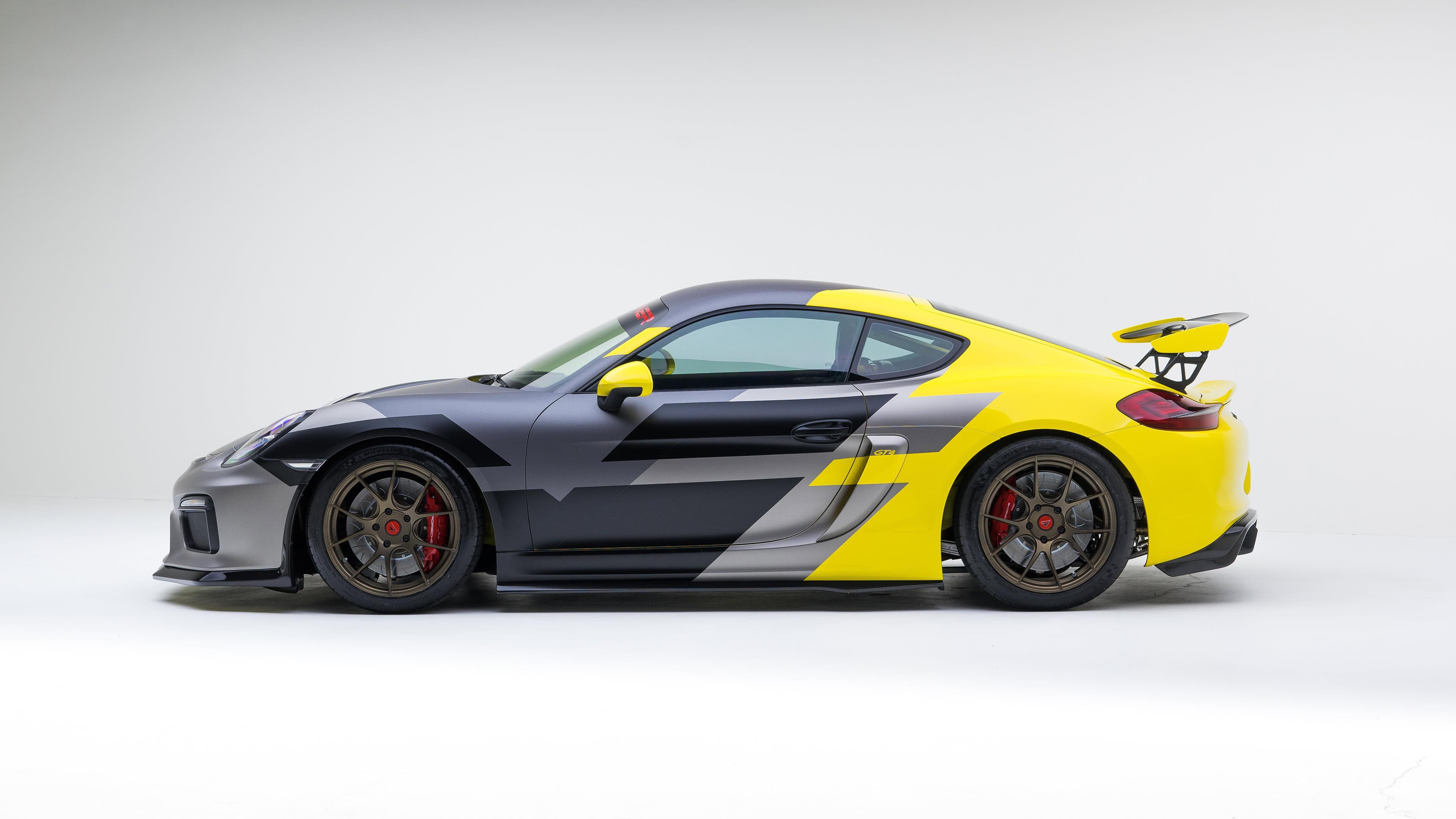 Porsche Cayman Gt4 Uhd 4k Wallpaper Pixelz