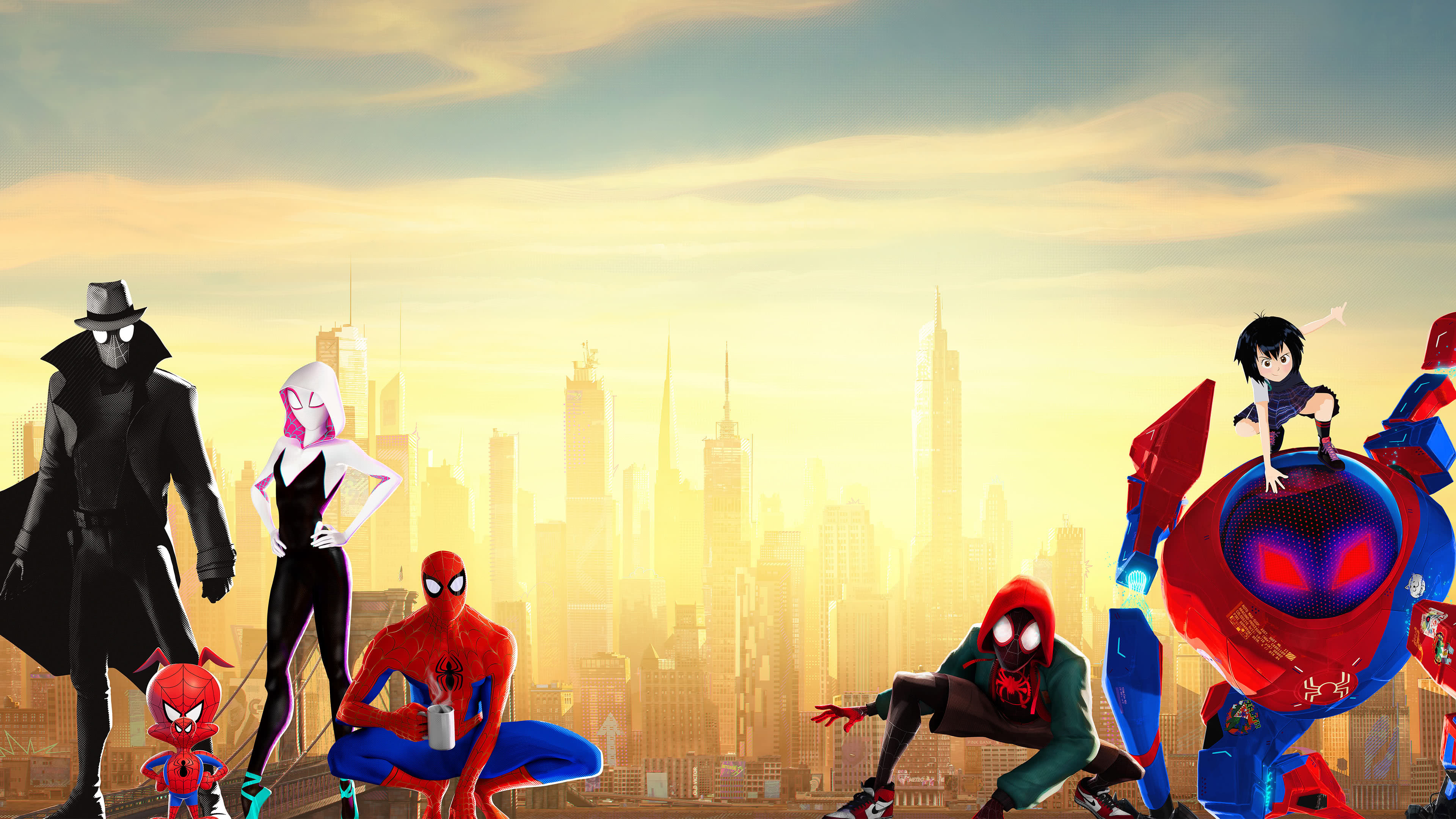 Spider Man Into The Spider Verse Uhd 4k Wallpaper Pixelz