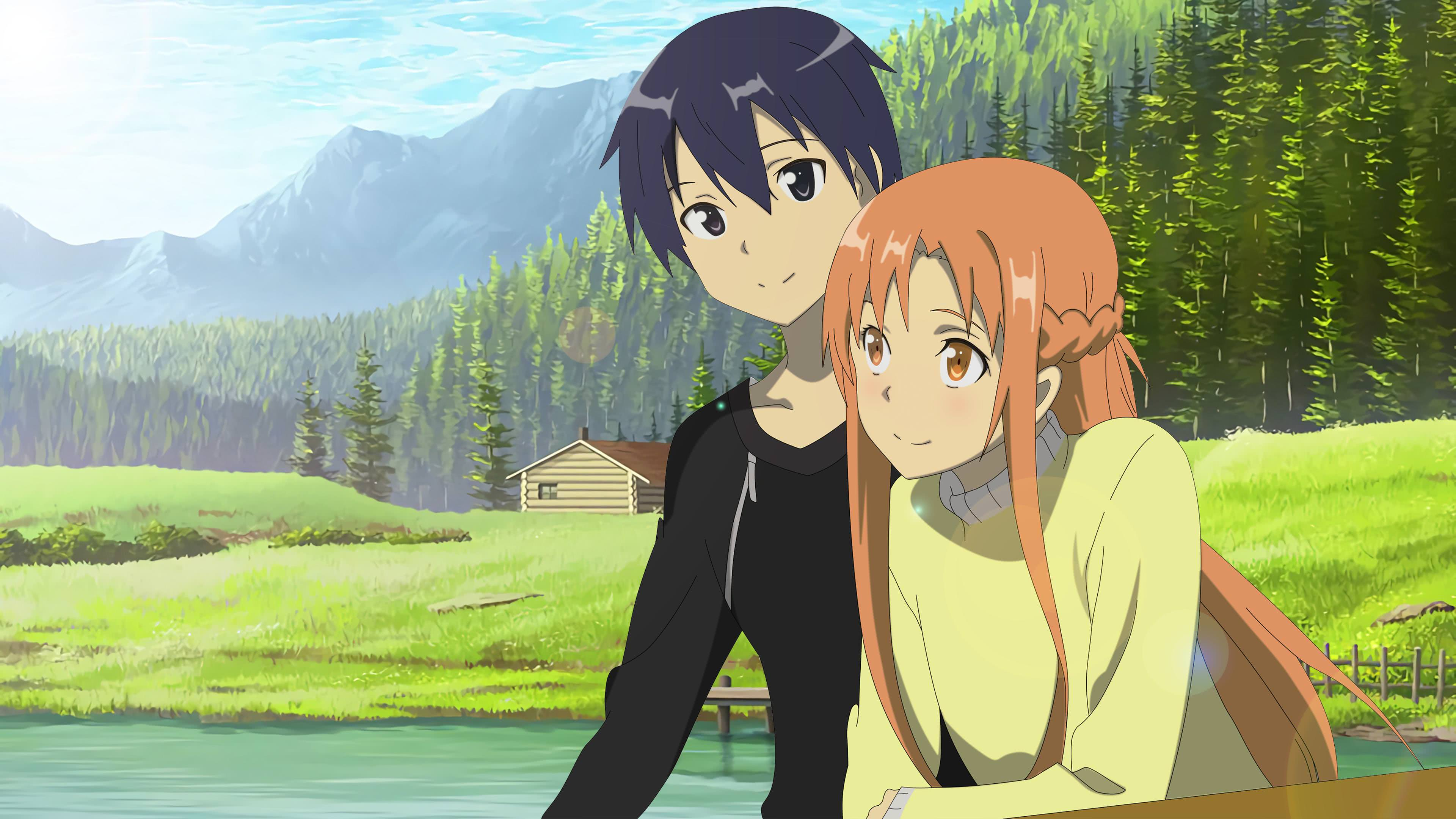 Download wallpaper from anime Sword Art Online II with tags Asuna