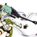 sword art online sinon asada shino uhd 4k wallpaper