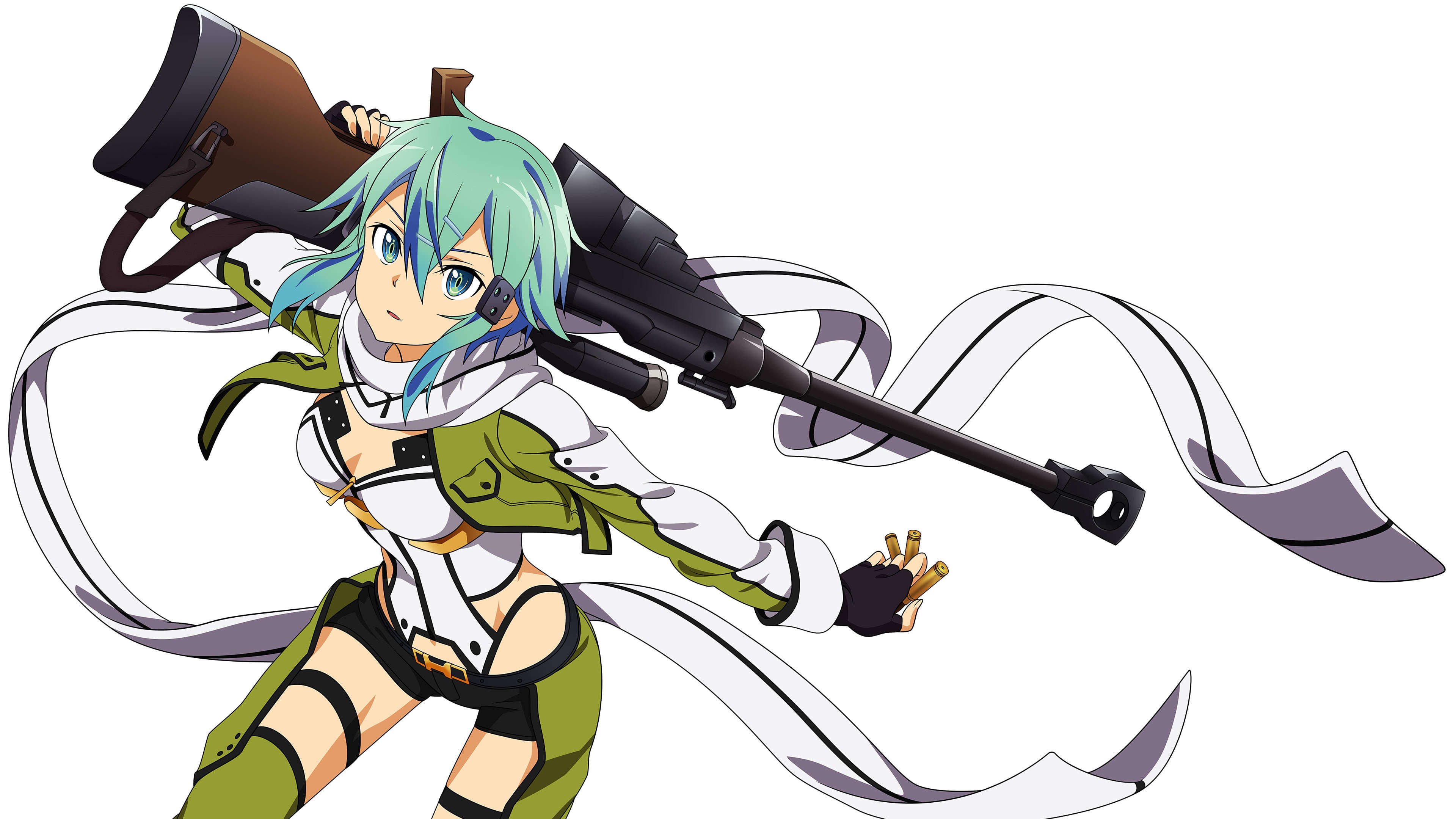 Sword Art Online Sinon Asada Shino Uhd 4k Wallpaper Pixelz