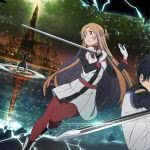 sword art online the movie ordinal scale uhd 4k wallpaper
