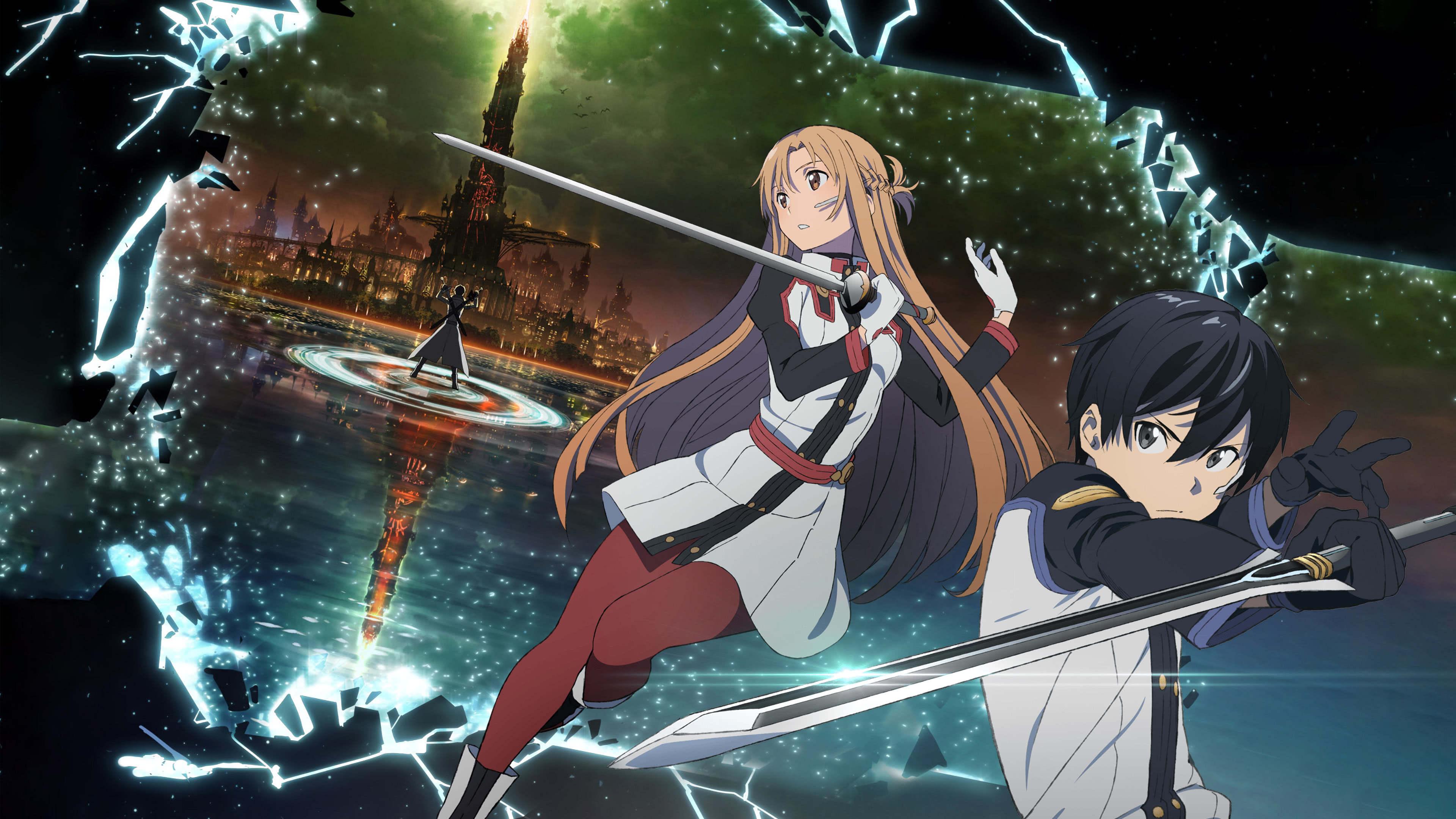 Sword Art Online The Movie Ordinal Scale Uhd 4k Wallpaper