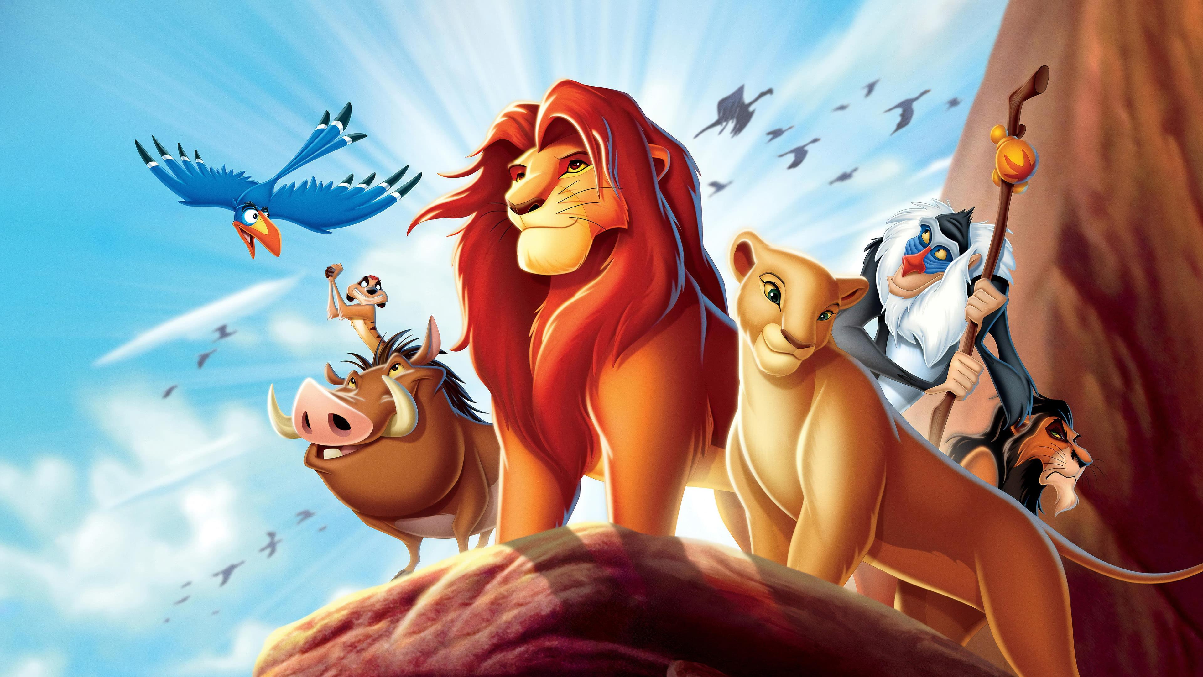 The Lion King Simba Nala Timon And Pumbaa Uhd 4k Wallpaper Pixelz