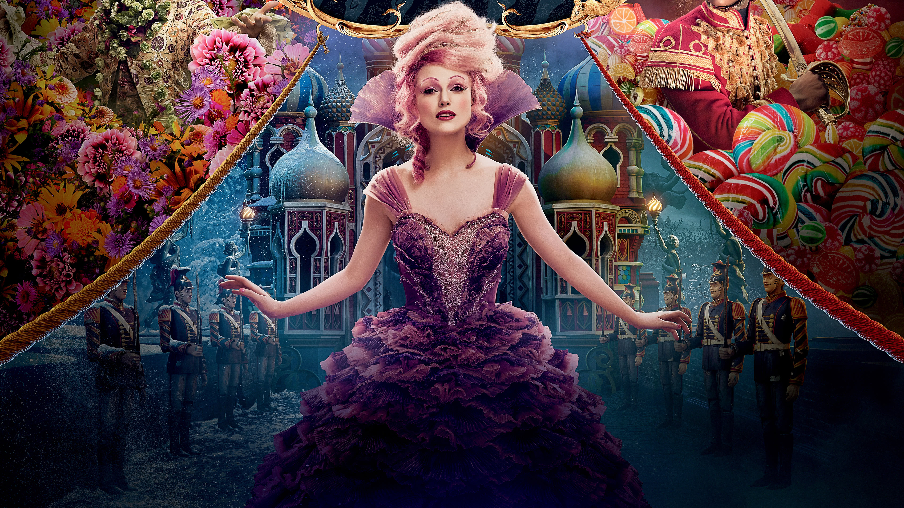 the nutcracker and the four realms poster uhd 4k wallpaper