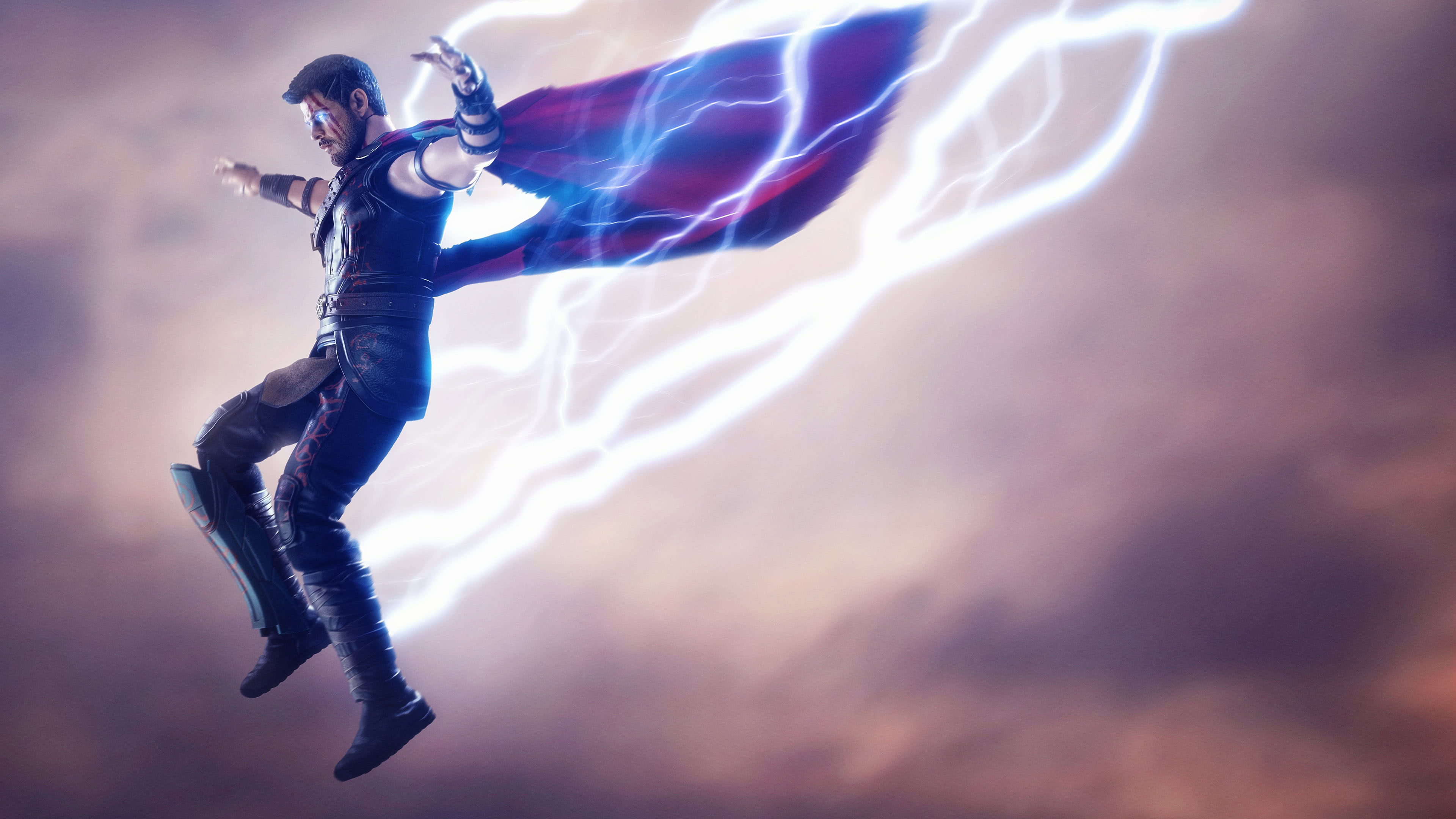 thor artwork uhd 4k wallpaper