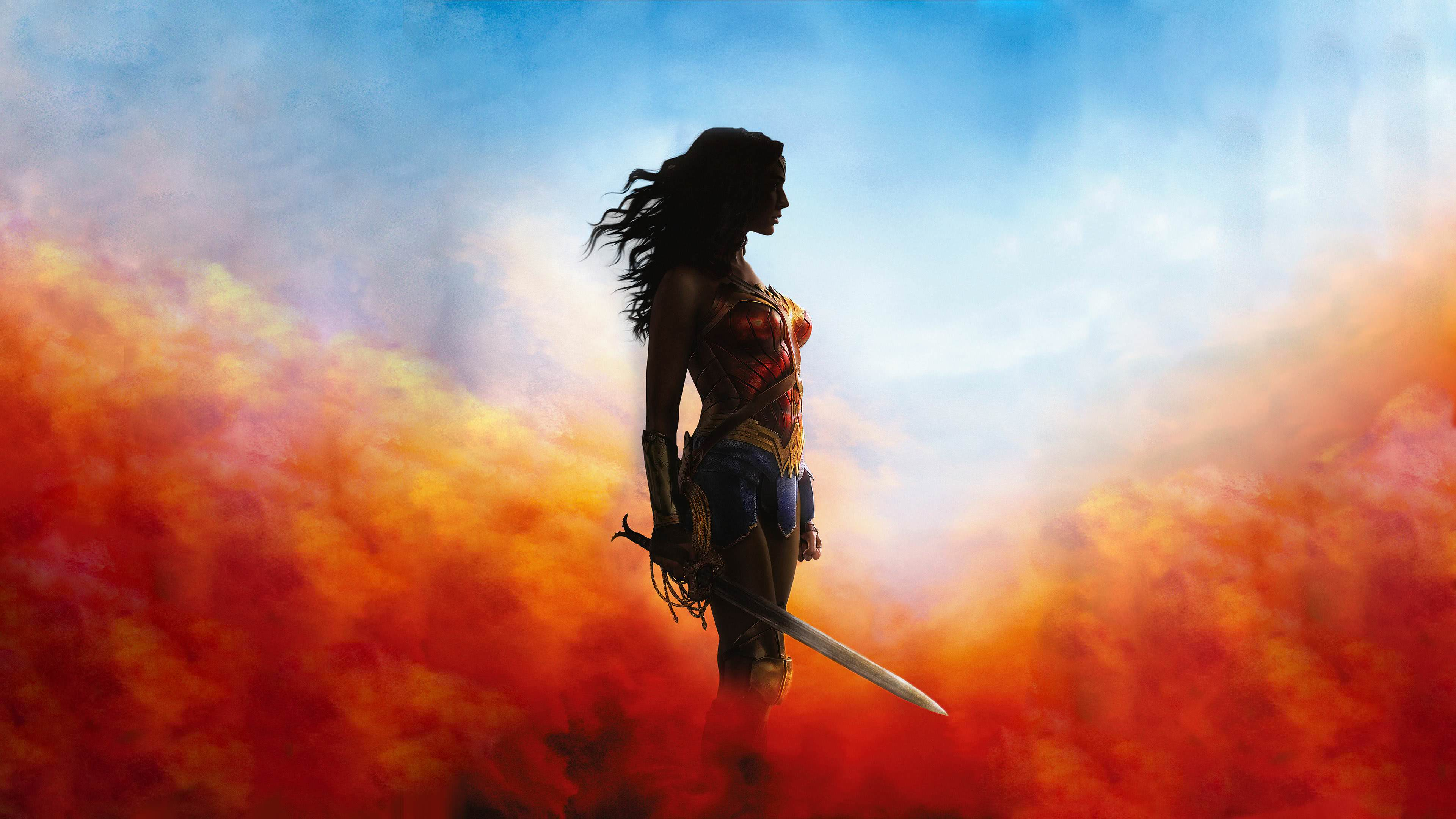 Wallpaper Wonder Woman 2017 Movies 6723: Wonder Woman Movie UHD 4K Wallpaper