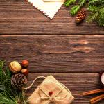 wood table christmas decorations uhd 4k wallpaper