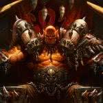 world of warcraft garrosh hellscream uhd 4k wallpaper