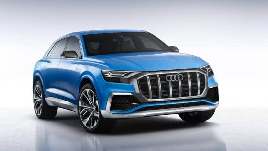 audi q8 suv uhd 4k wallpaper