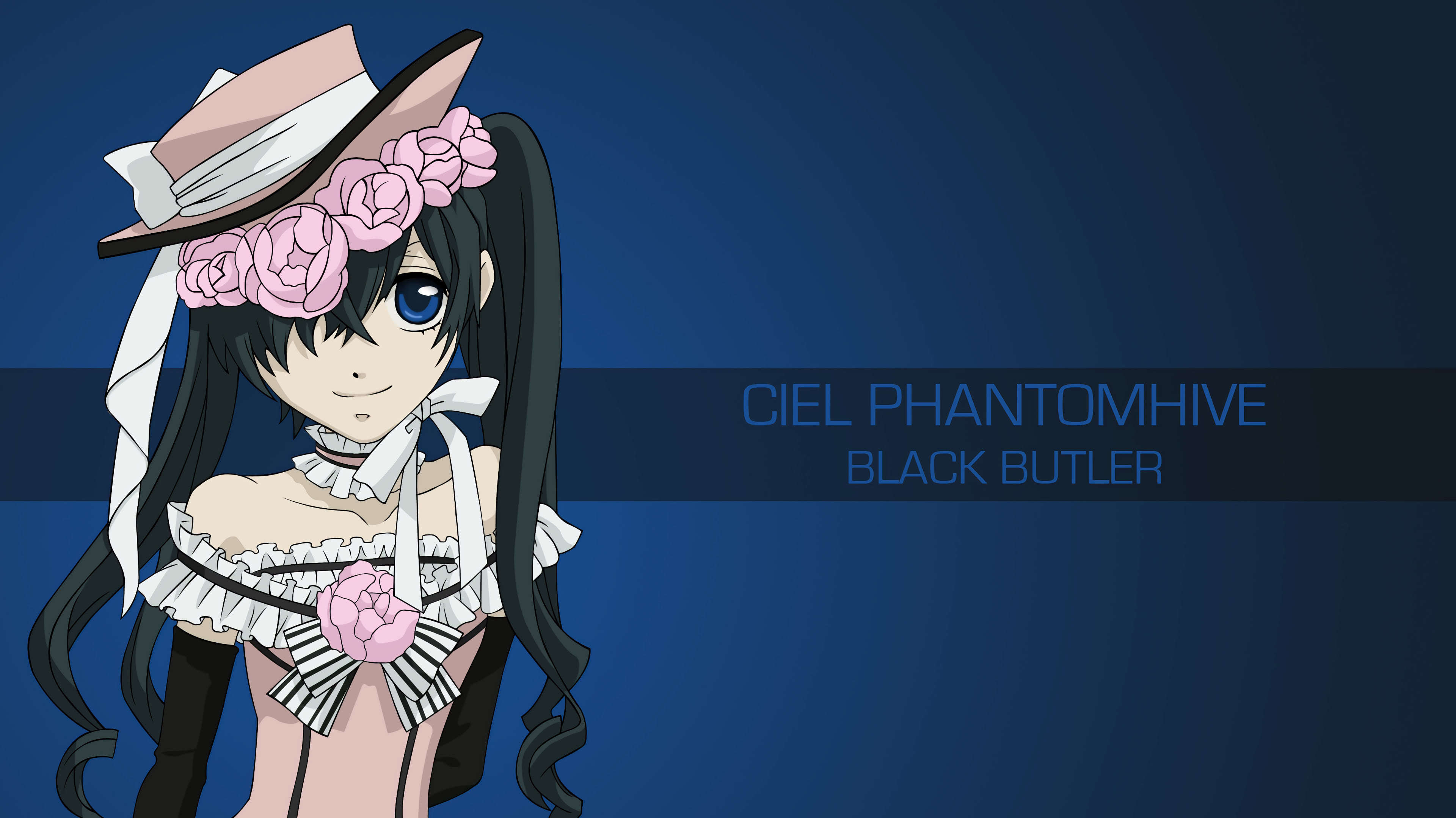 ciel phantomhive black butler uhd 4k wallpaper