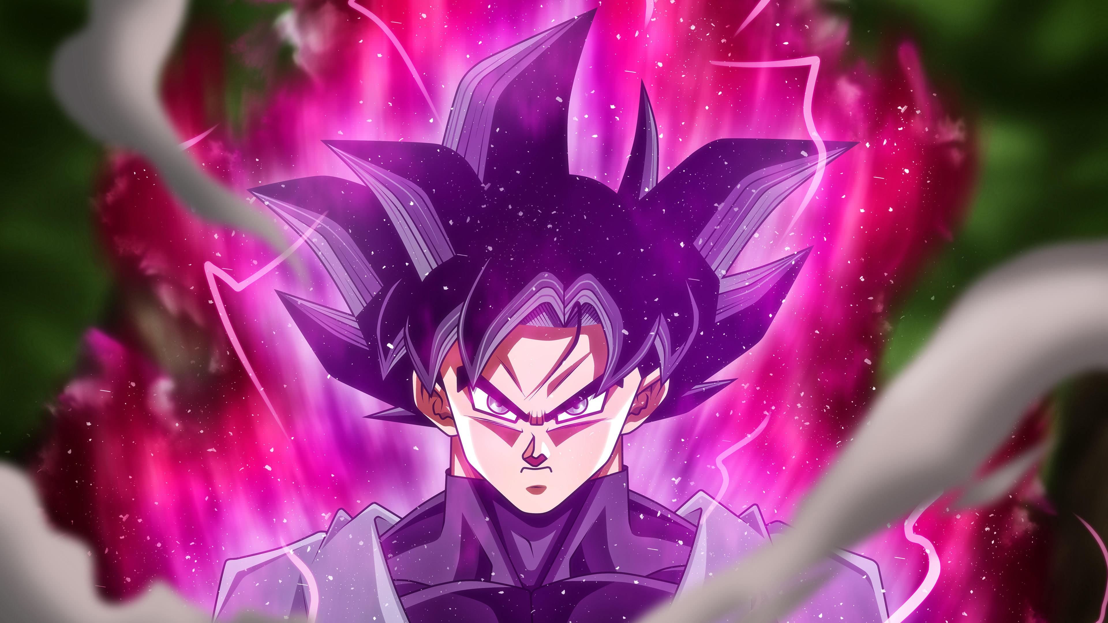 Dragon Ball Goku Black Portrait Uhd 4k Wallpaper Pixelz