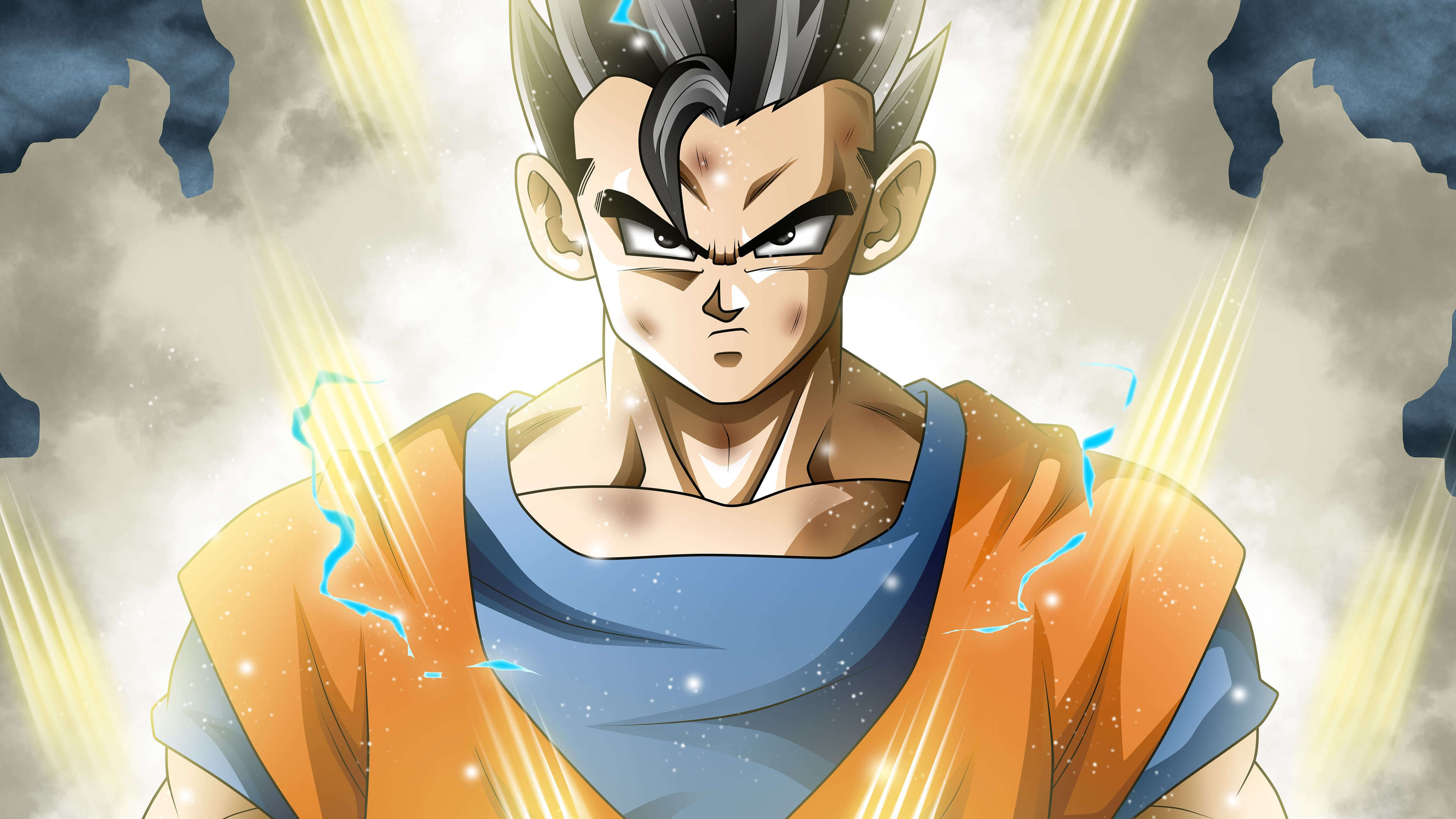 Dragon Ball Super Mystic Gohan Portrait Uhd 4k Wallpaper Pixelz