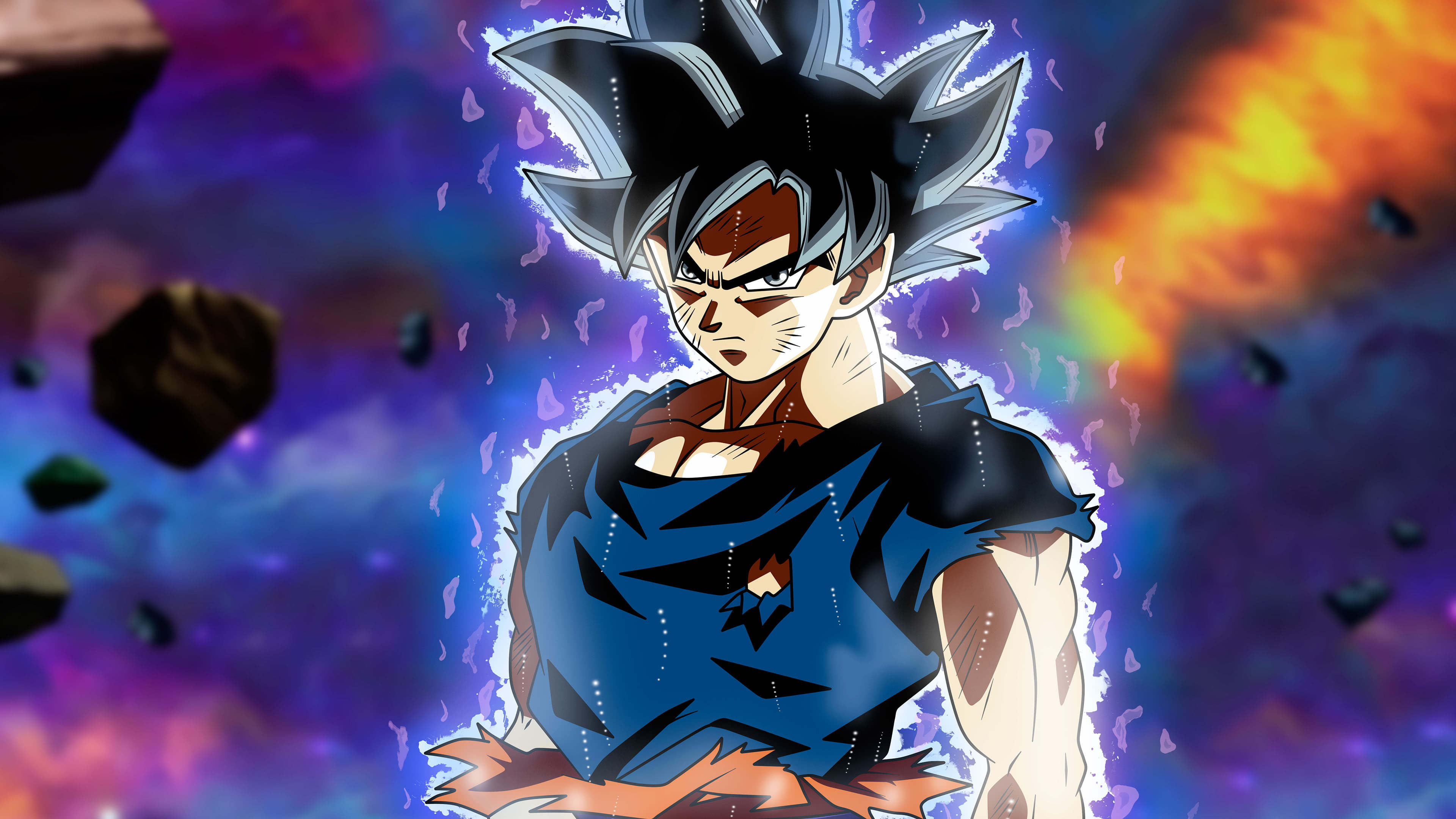 Dragon Ball Super Ultra Instinct Goku Portrait Uhd 4k Wallpaper