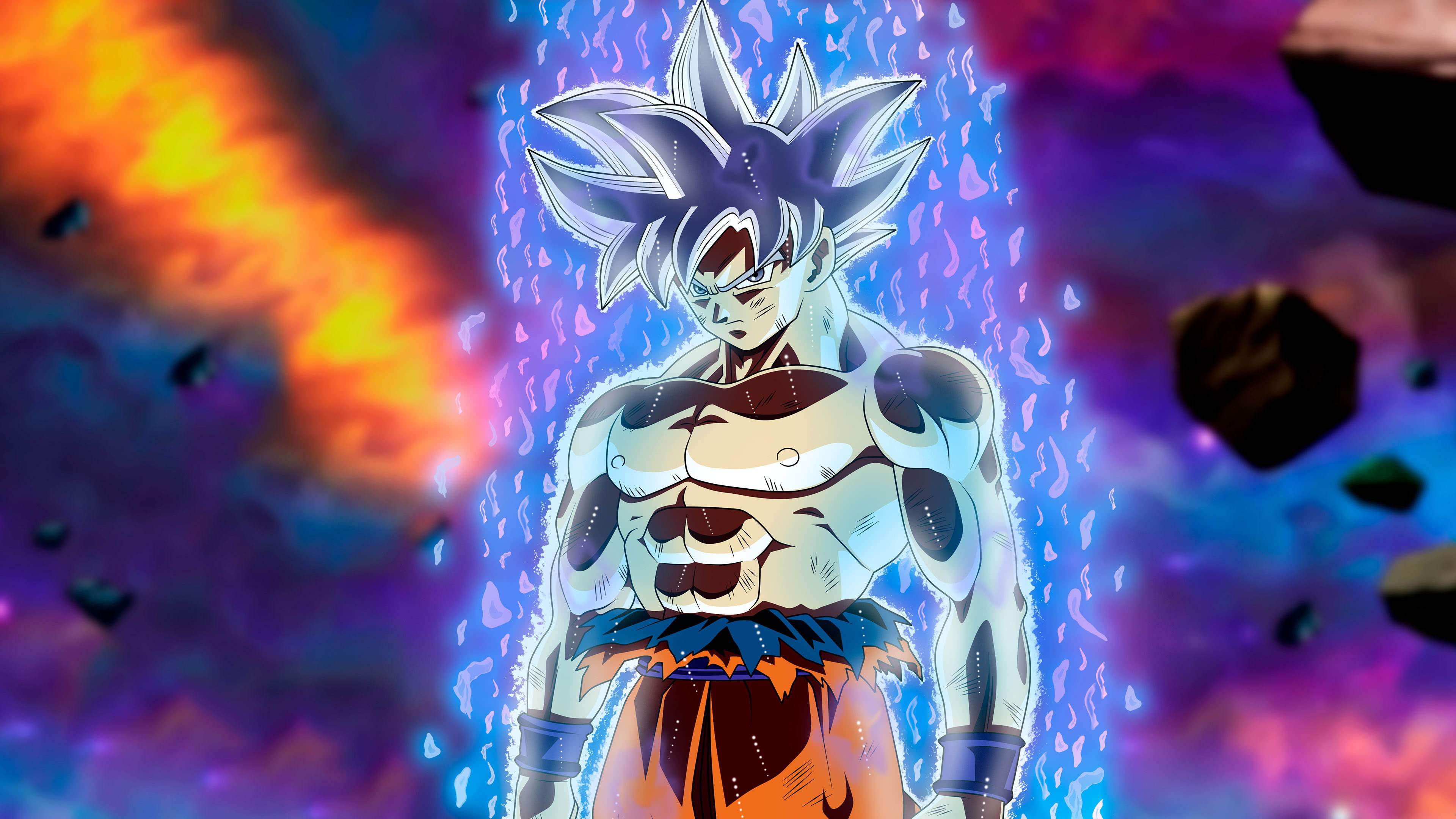 Dragon Ball Super Ultra Instinct Goku Uhd 4k Wallpaper Pixelz
