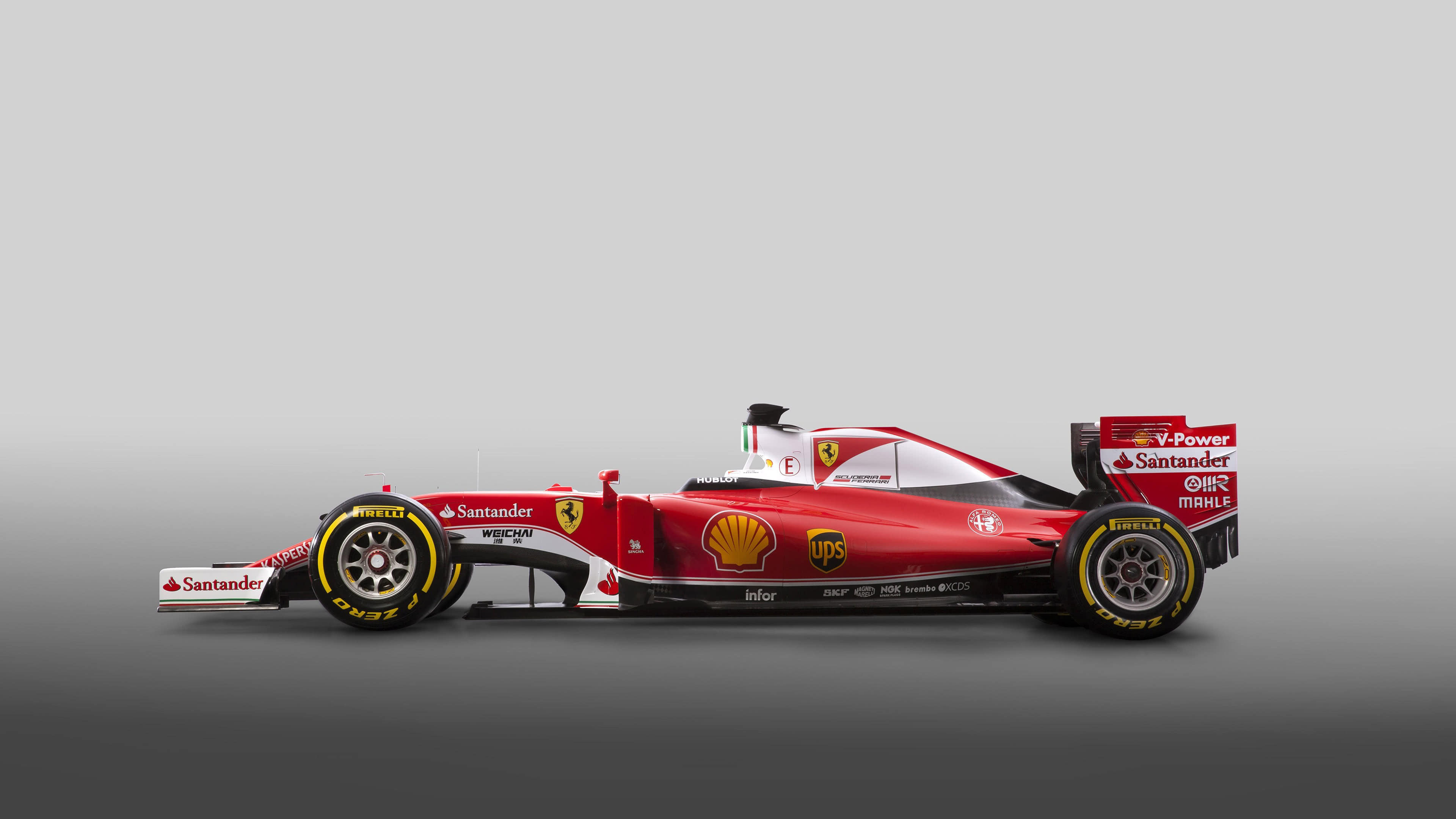 ferrari sf16 h f1 side uhd 4k wallpaper