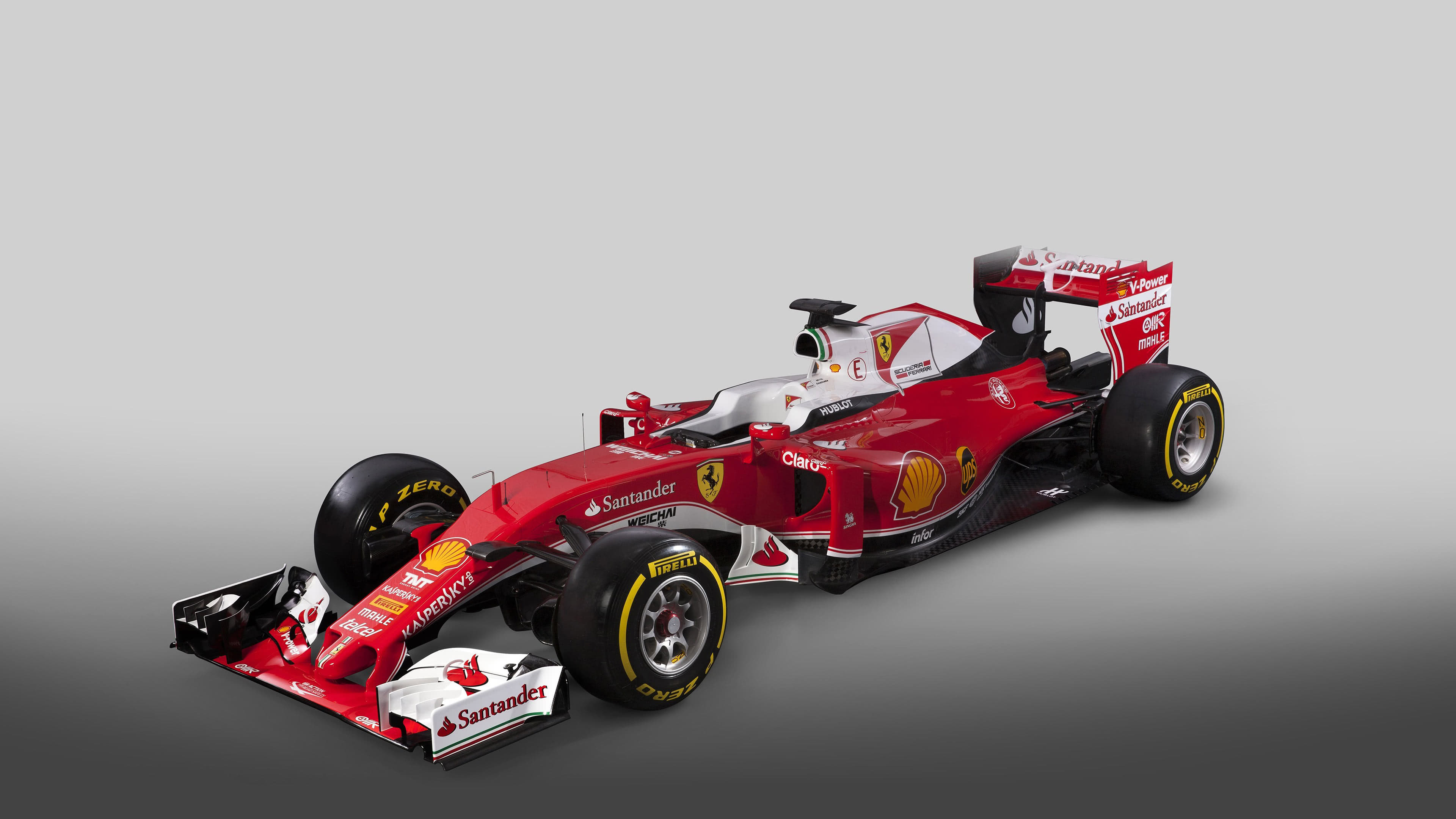 ferrari sf16 h f1 uhd 4k wallpaper