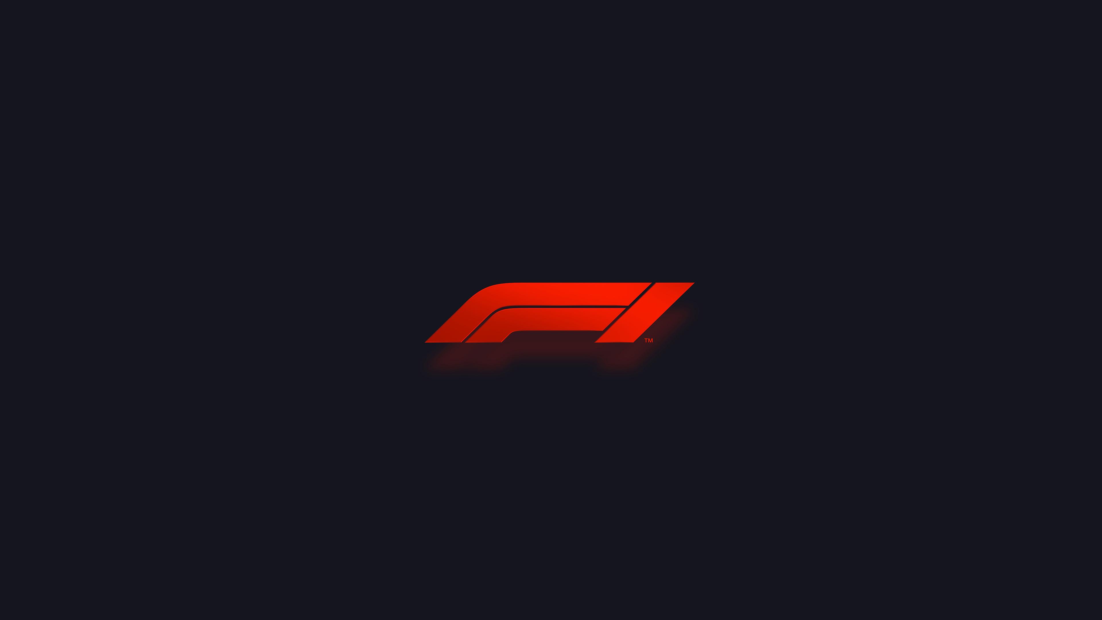 formula 1 logo uhd 4k wallpaper