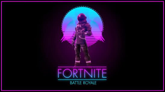 fortnite battle royale logo uhd 4k wallpaper