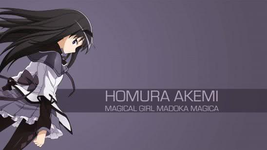 homura akemi magical girl madoka magica uhd 4k wallpaper