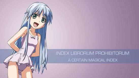 index librorum prohibitorum a certain magical index uhd 4k wallpaper