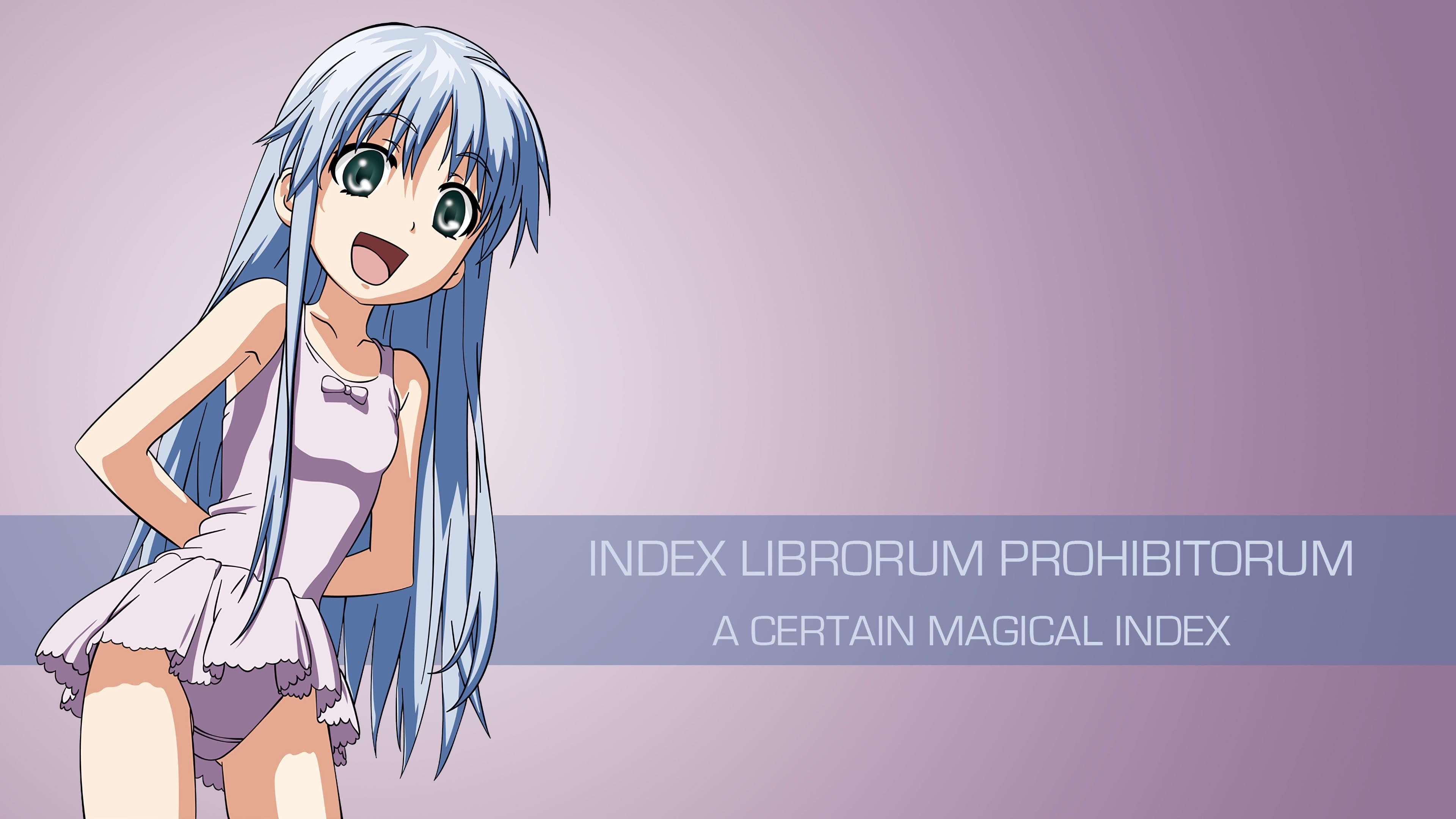 Index Librorum Prohibitorum A Certain Magical Index Uhd 4k