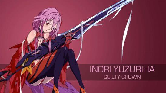 inori yuzuriha guilty crown uhd 4k wallpaper