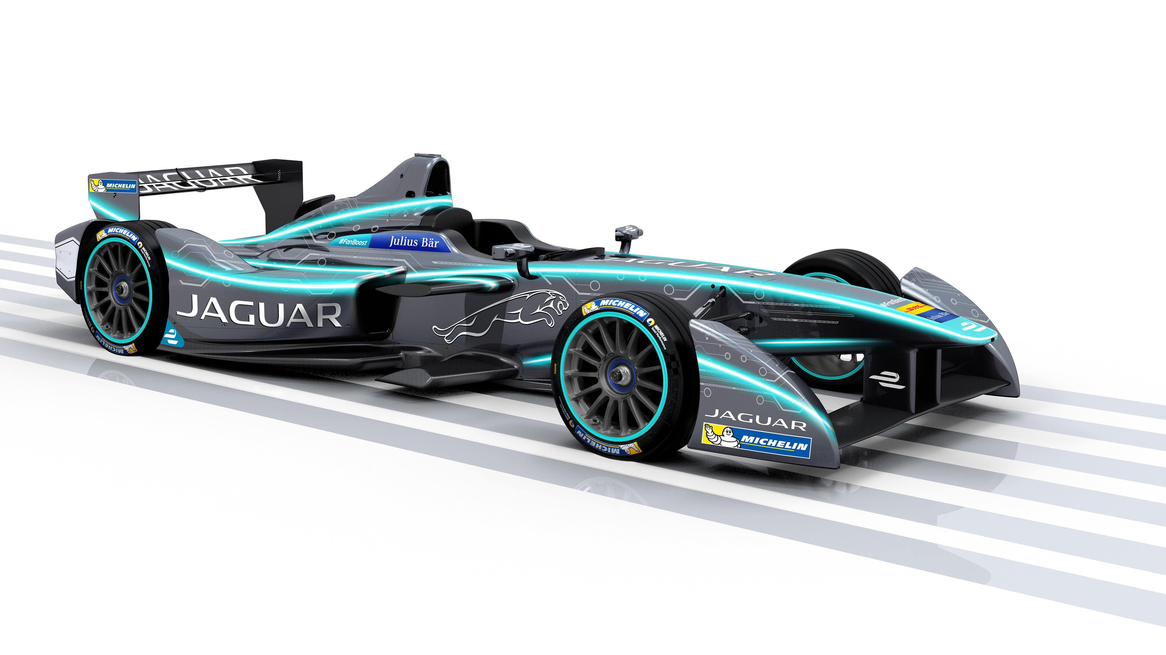 jaguar formula e uhd 4k wallpaper