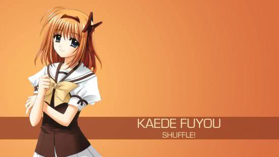 kaede fuyou shuffle uhd 4k wallpaper