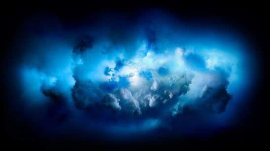 mac osx blue clouds background uhd 4k wallpaper