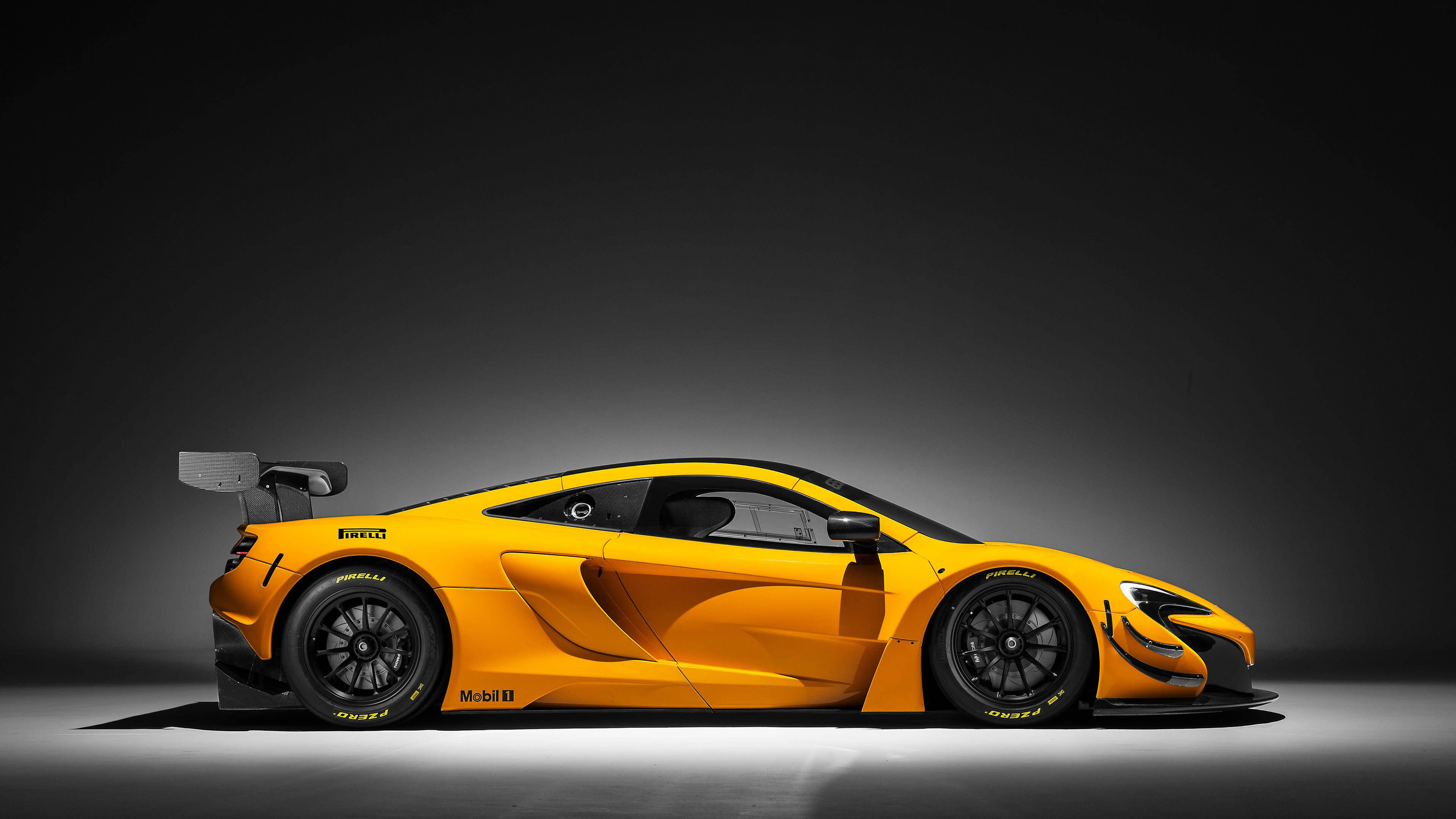 mclaren 650s gt3 side uhd 4k wallpaper