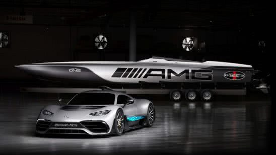 mercedes amg cigarette boat uhd 4k wallpaper