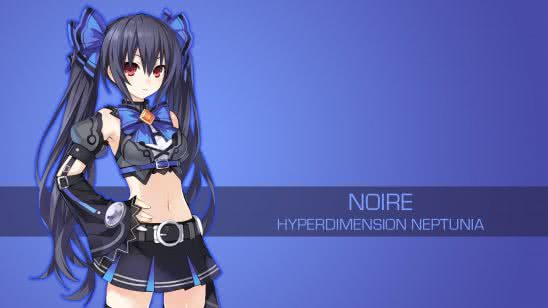 noire hyperdimension neptunia uhd 4k wallpaper