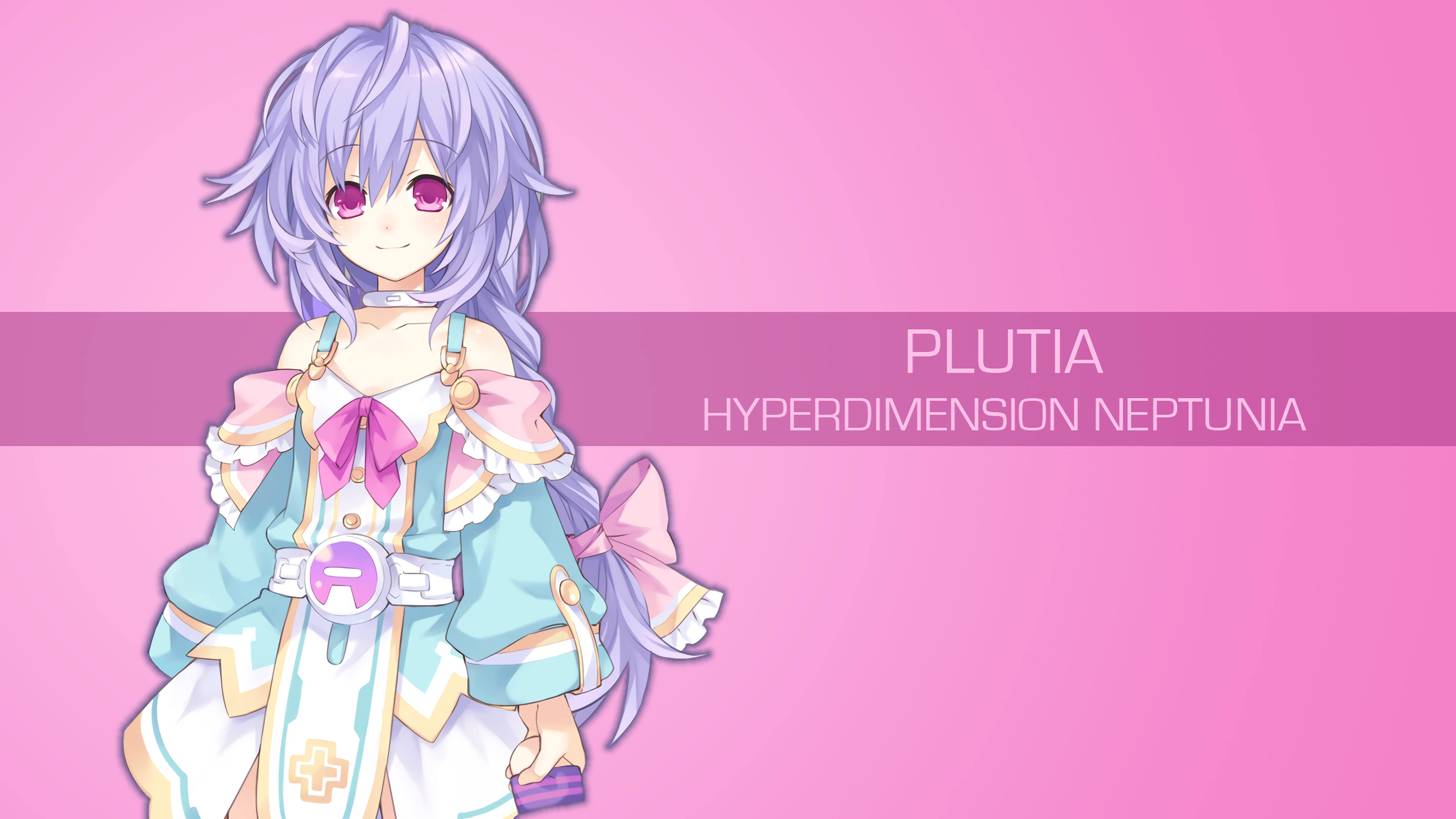 Plutia Hyperdimension Neptunia UHD 4K Wallpaper   Pixelz