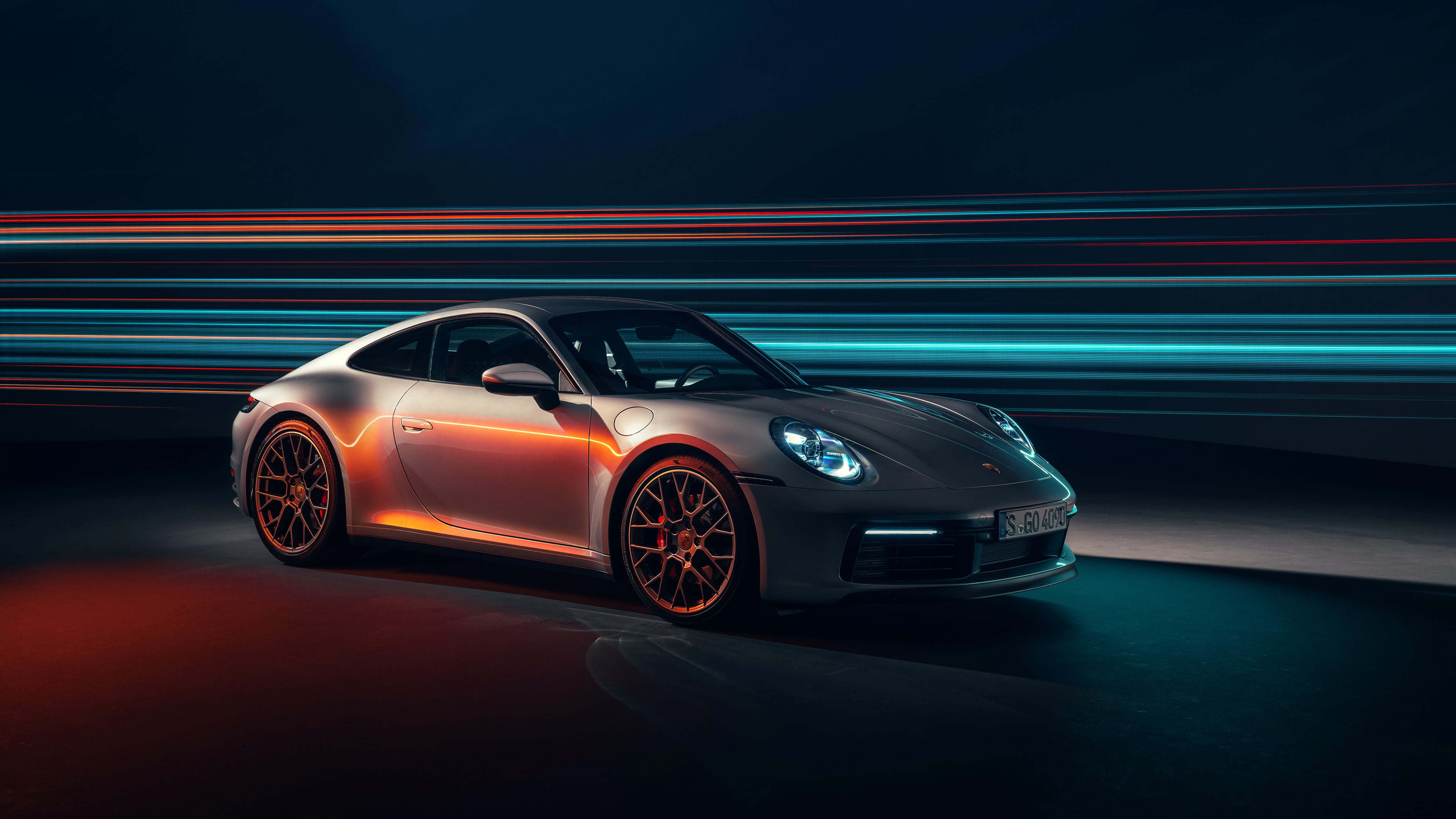 Porsche 911 Carrera UHD 4K Wallpaper