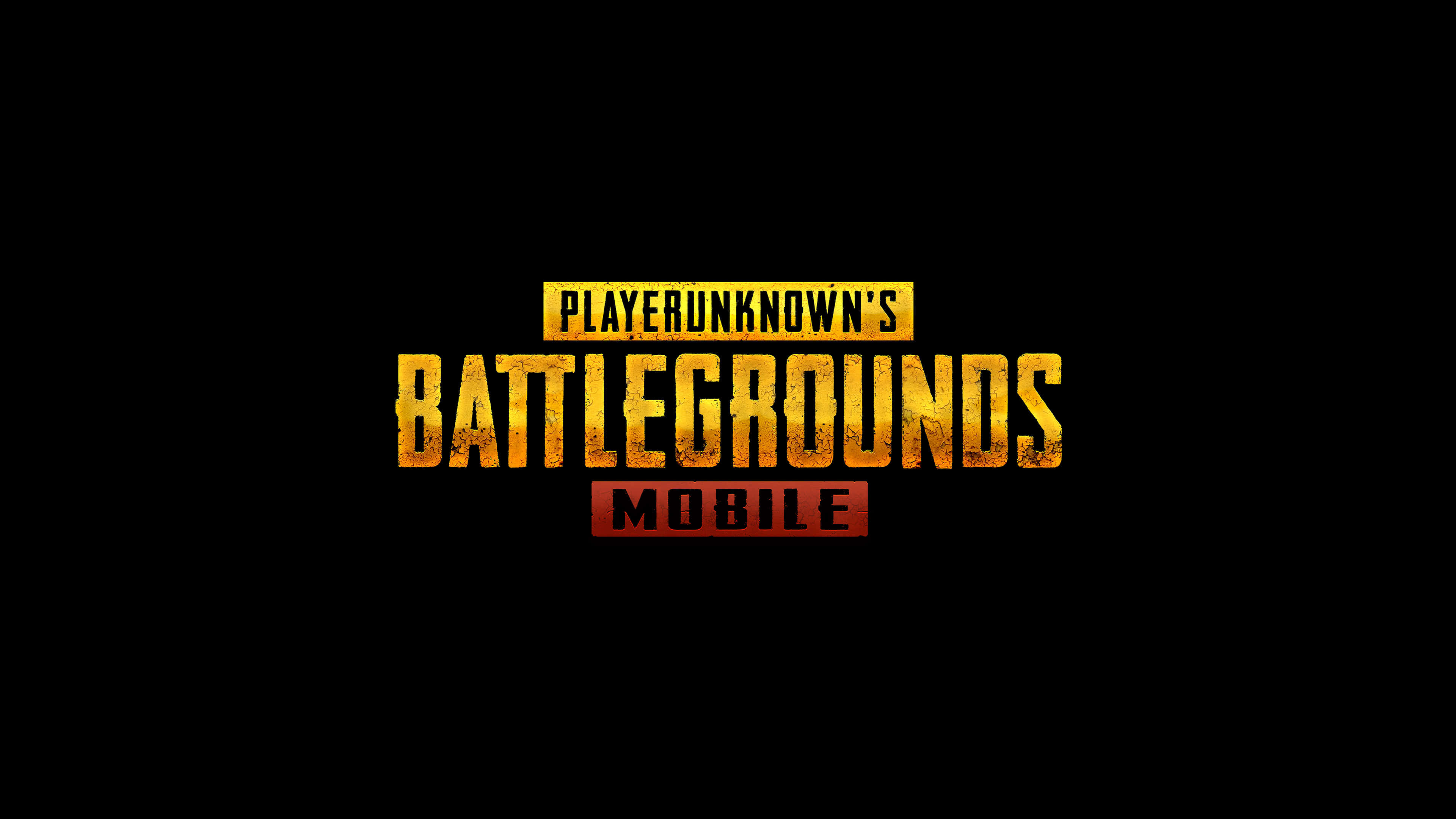 Pubg Wallpaper 4k Mobile: PUBG Mobile Player Unknown Battlegrounds Mobile Logo UHD