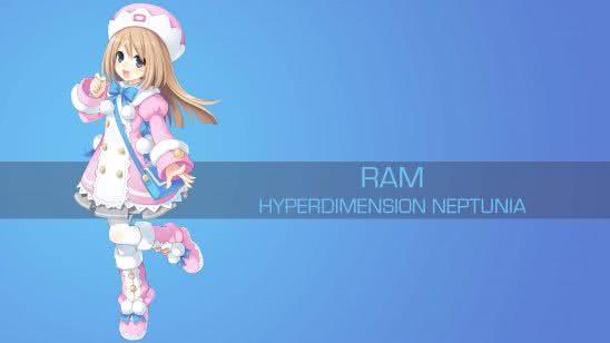 ram hyperdimension neptunia uhd 4k wallpaper