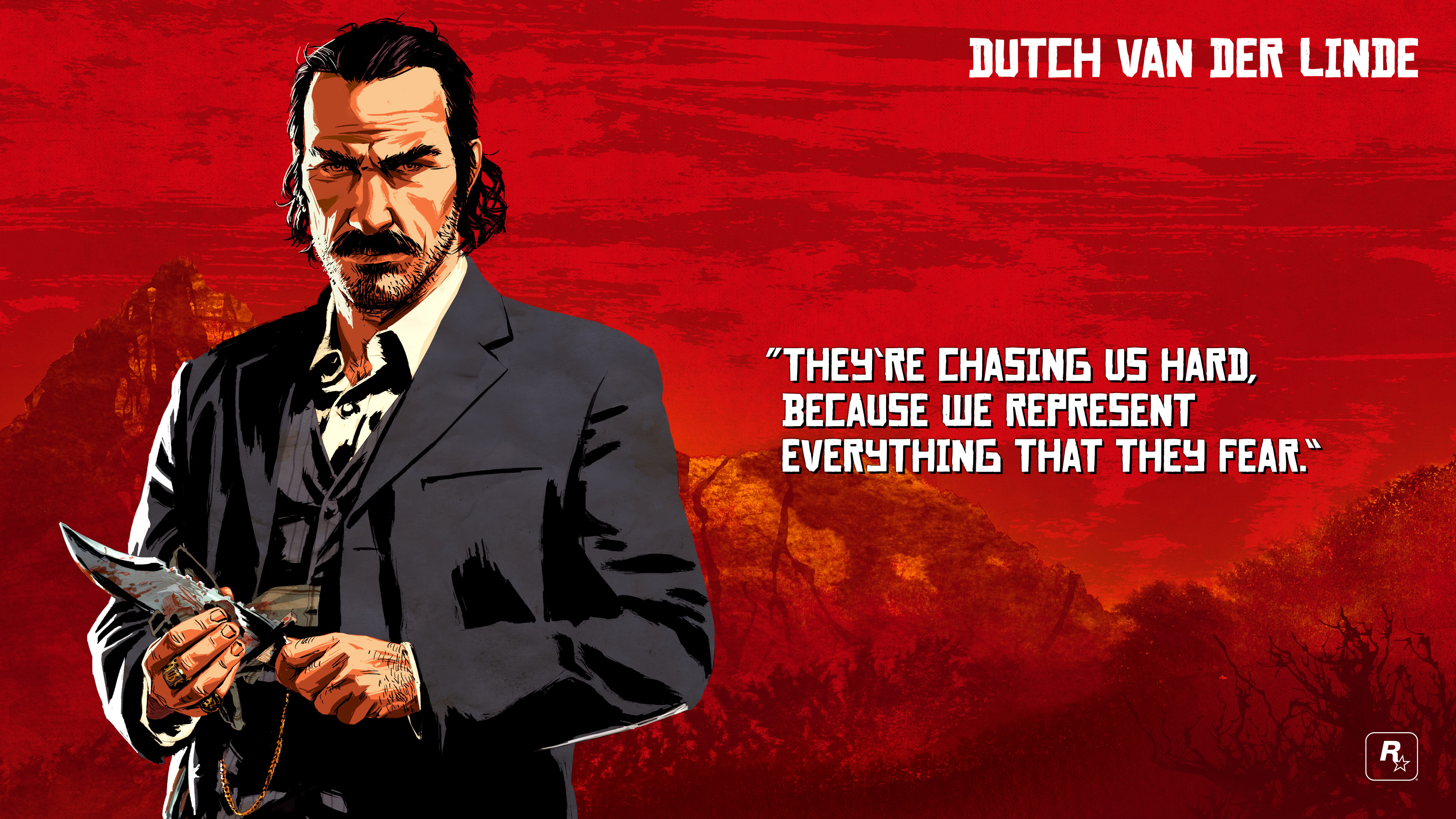 red dead redemption 2 dutch van der linde uhd 4k wallpaper