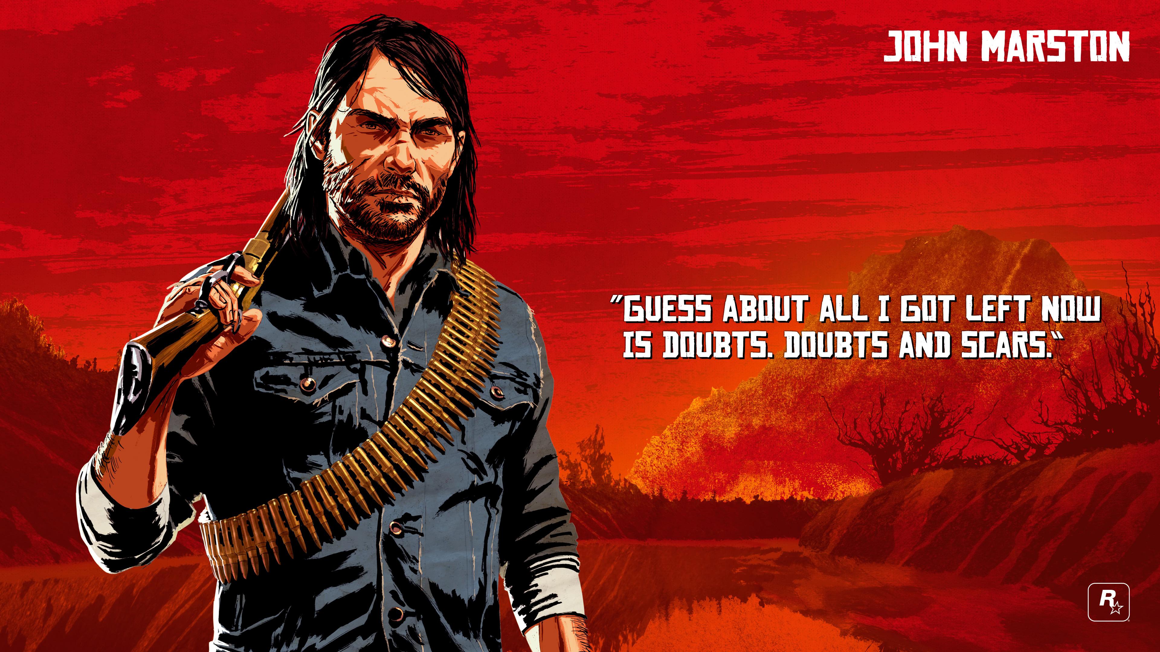 Red Dead Redemption 2 John Marston Uhd 4k Wallpaper Pixelz