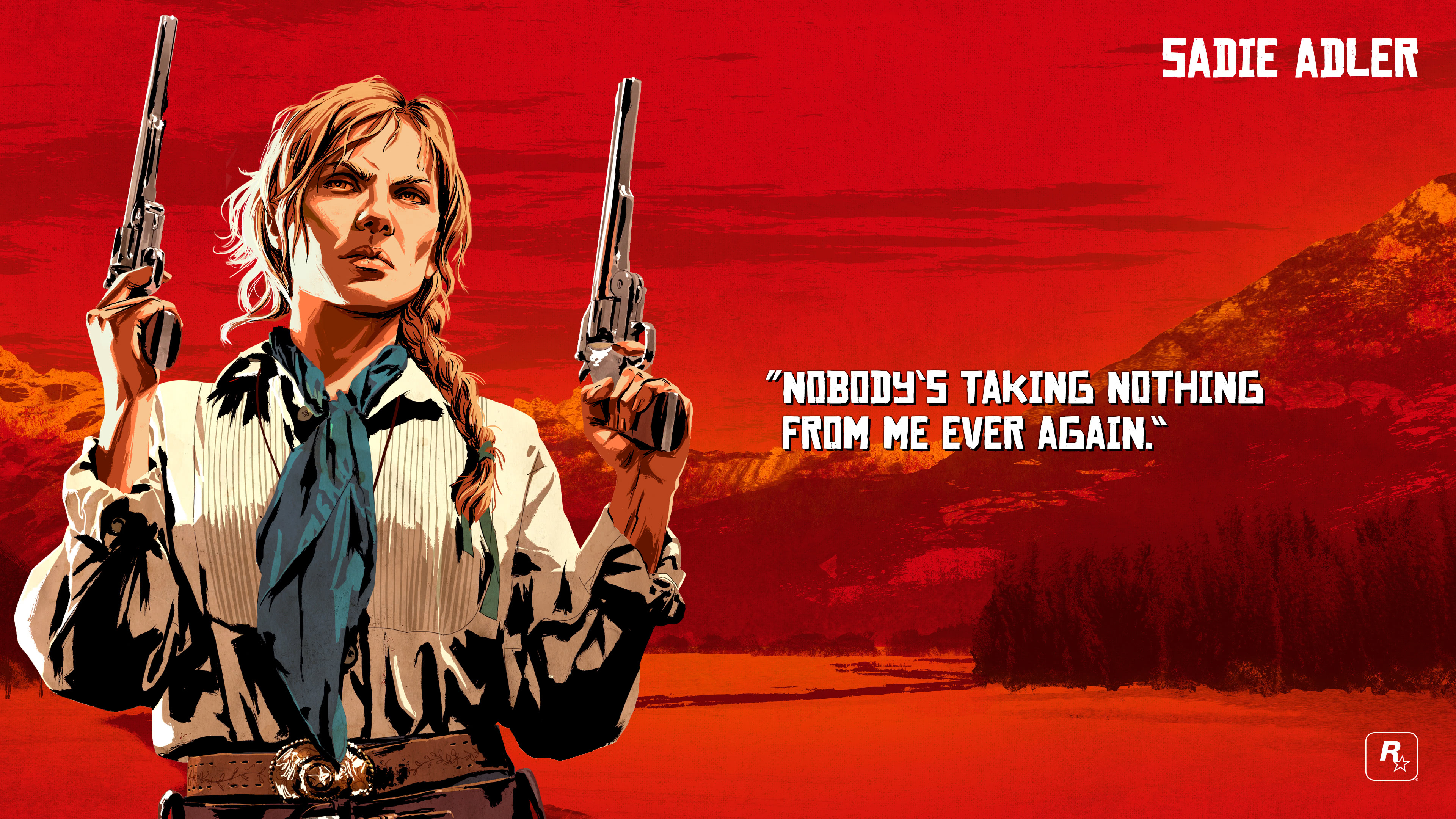 Red Dead Redemption 2 Sadie Adler Uhd 4k Wallpaper Pixelz