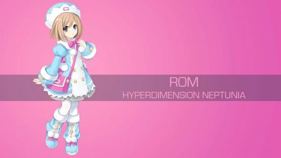 rom hyperdimension neptunia uhd 4k wallpaper