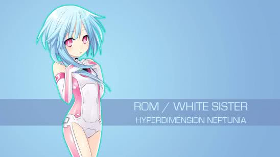 rom white sister hyperdimension neptunia uhd 4k wallpaper