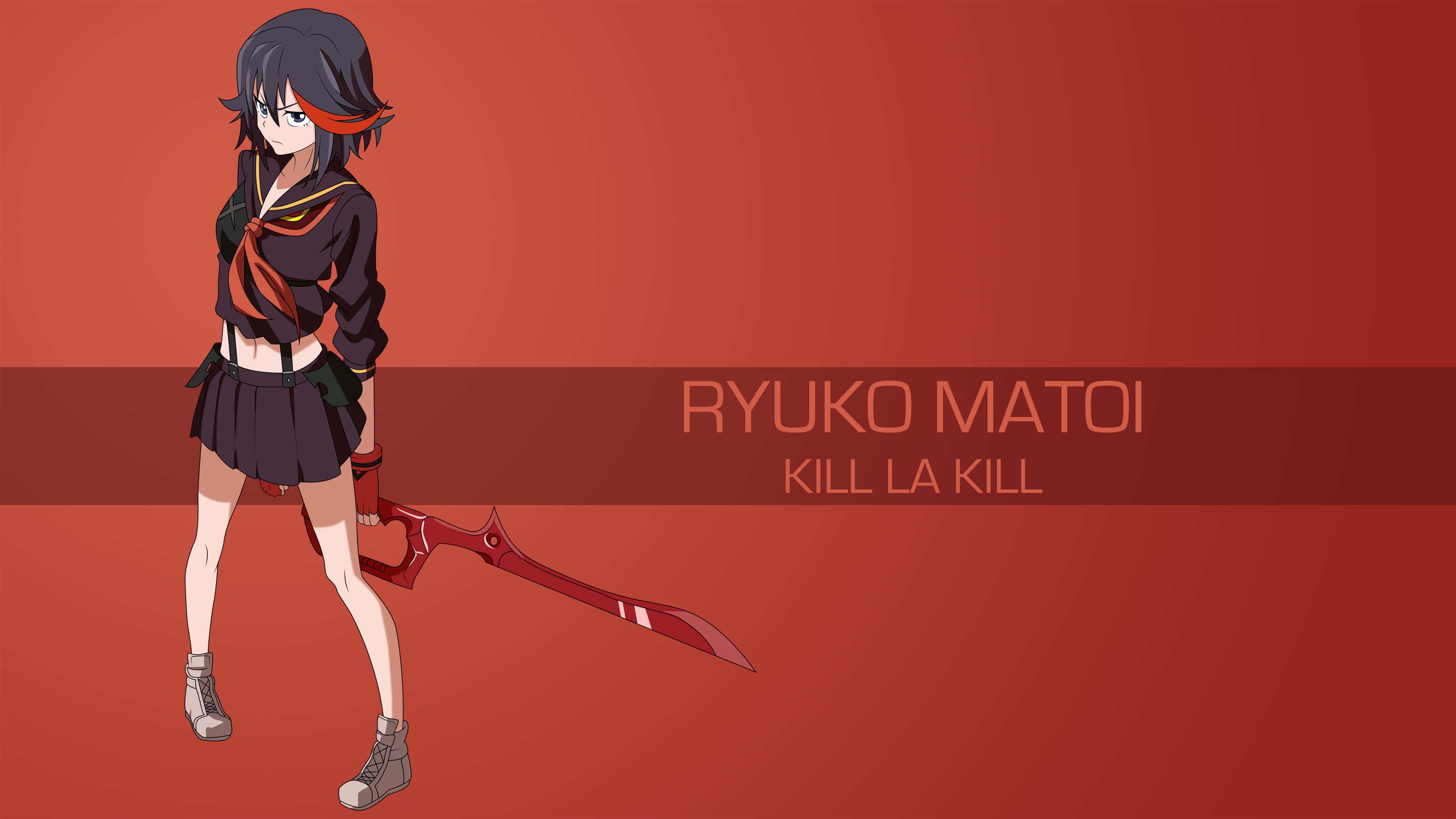 Ryuko Matoi Kill La Kill Uhd 4k Wallpaper Pixelz